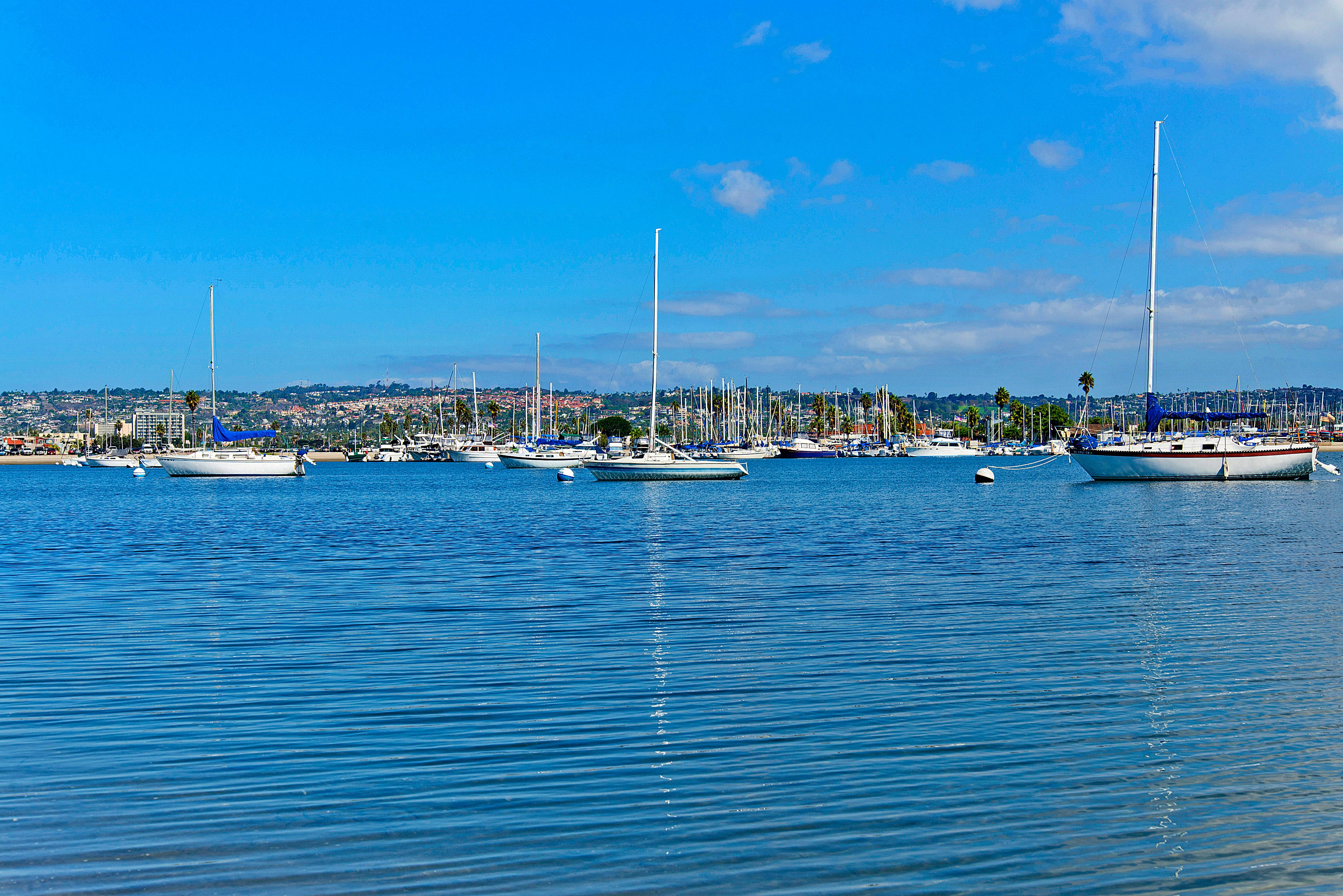 From boat charters to bayside strolls, San Diego is an ideal getaway for water lovers.