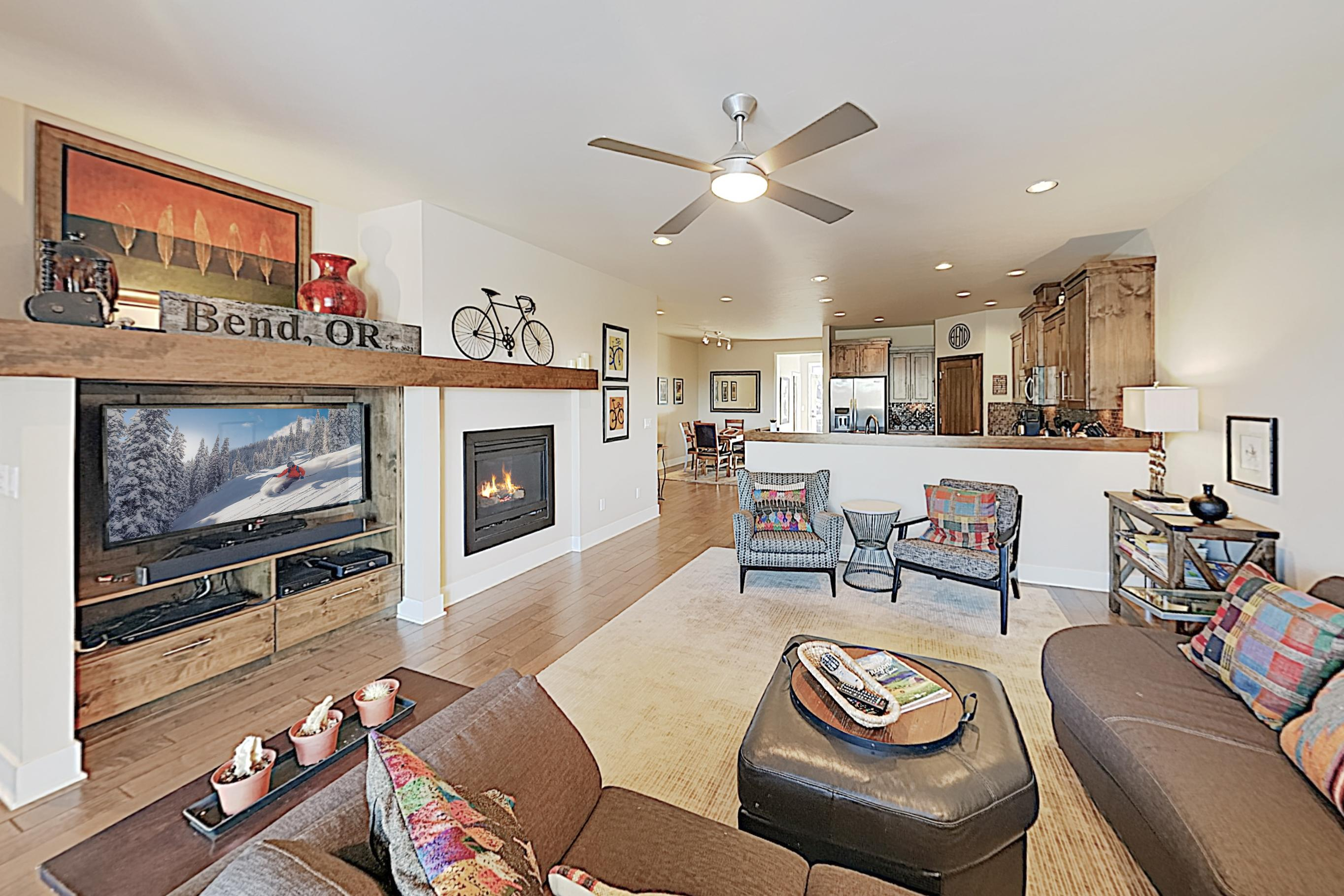 Welcome to Bend! This townhome is professionally managed by TurnKey Vacation Rentals.