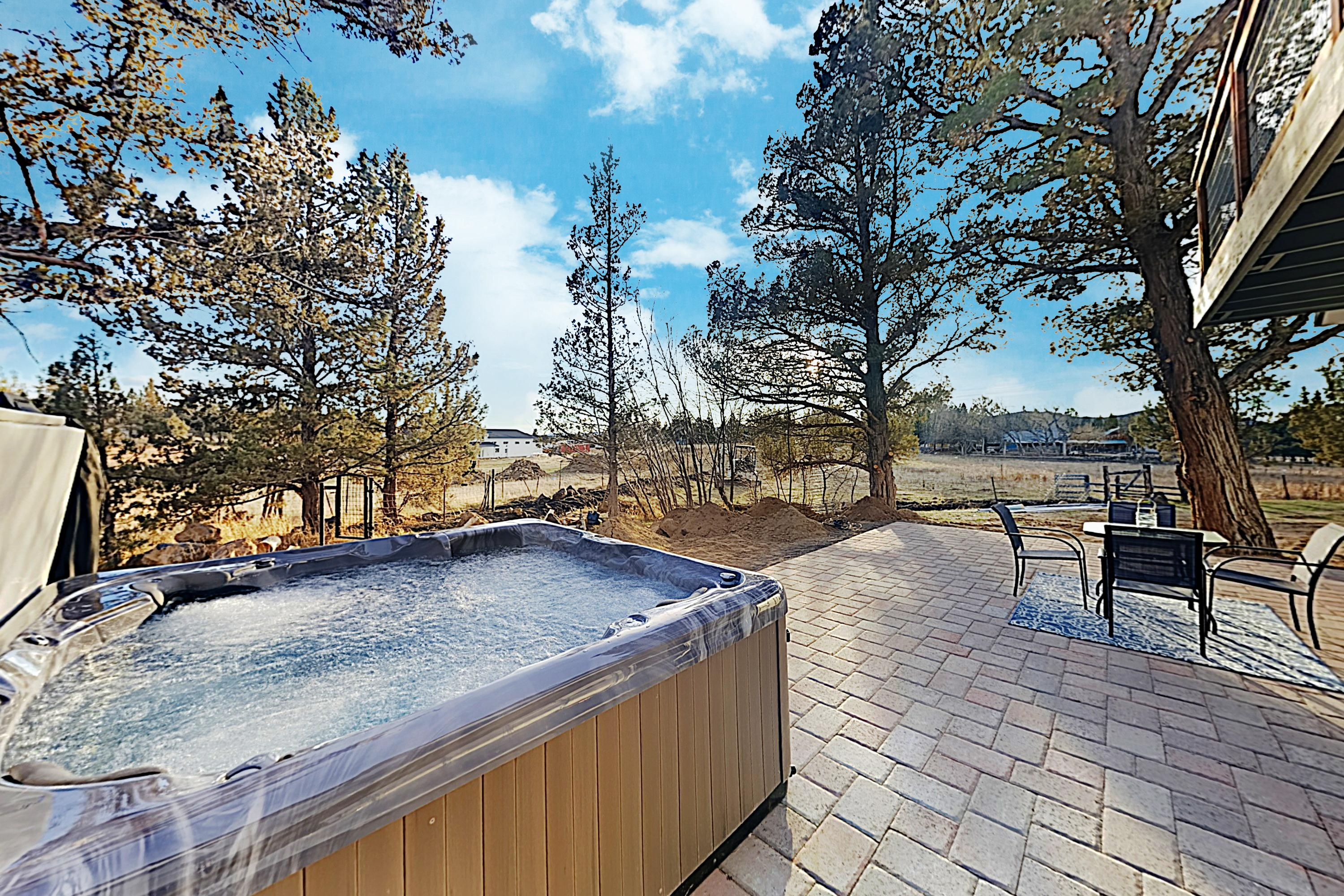 Grand, Secluded Home with Hot Tub and Fire Pit on Sprawling Lot