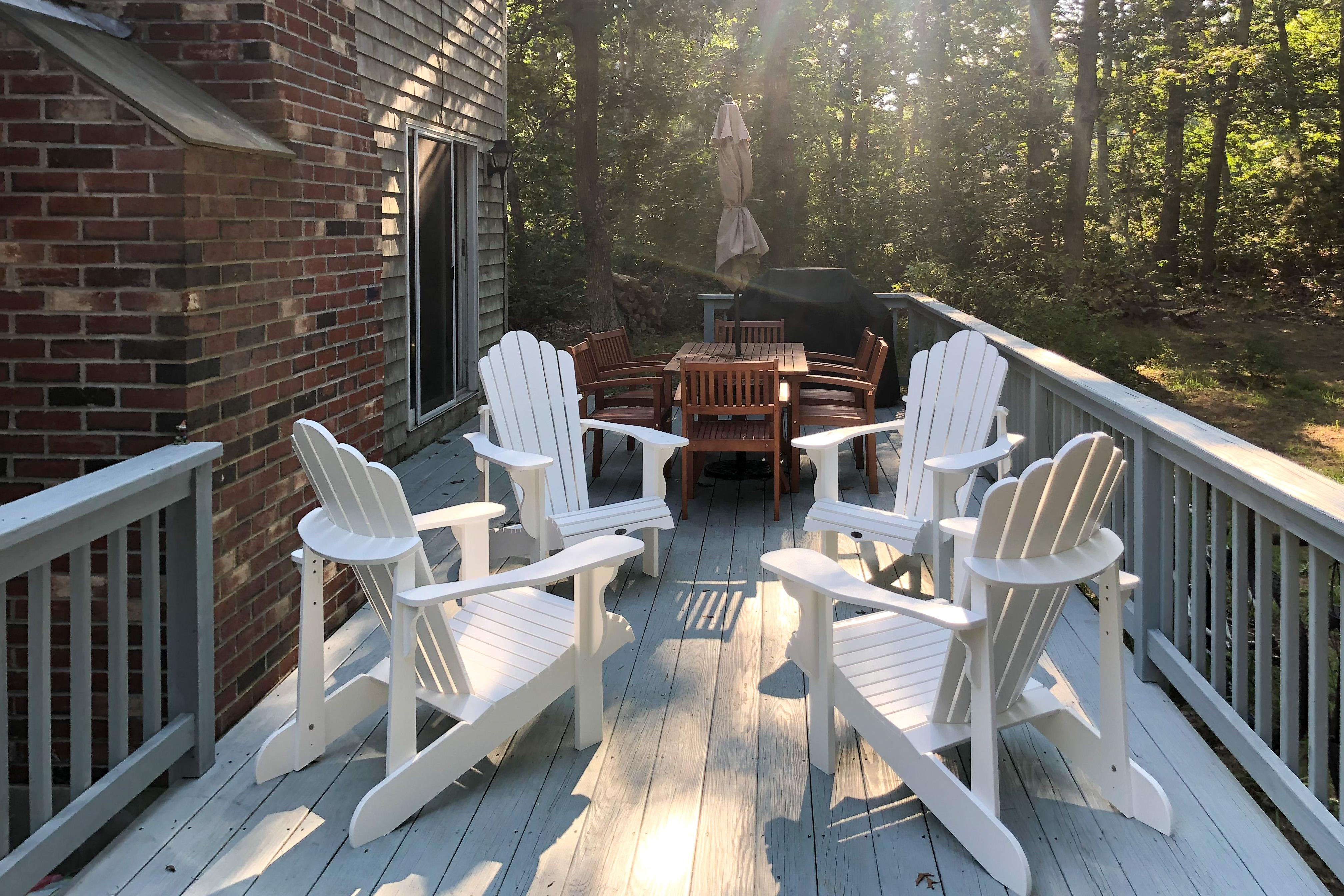 Property Image 2 - Charming Updated Home with Fireplace & Deck, Near Beach