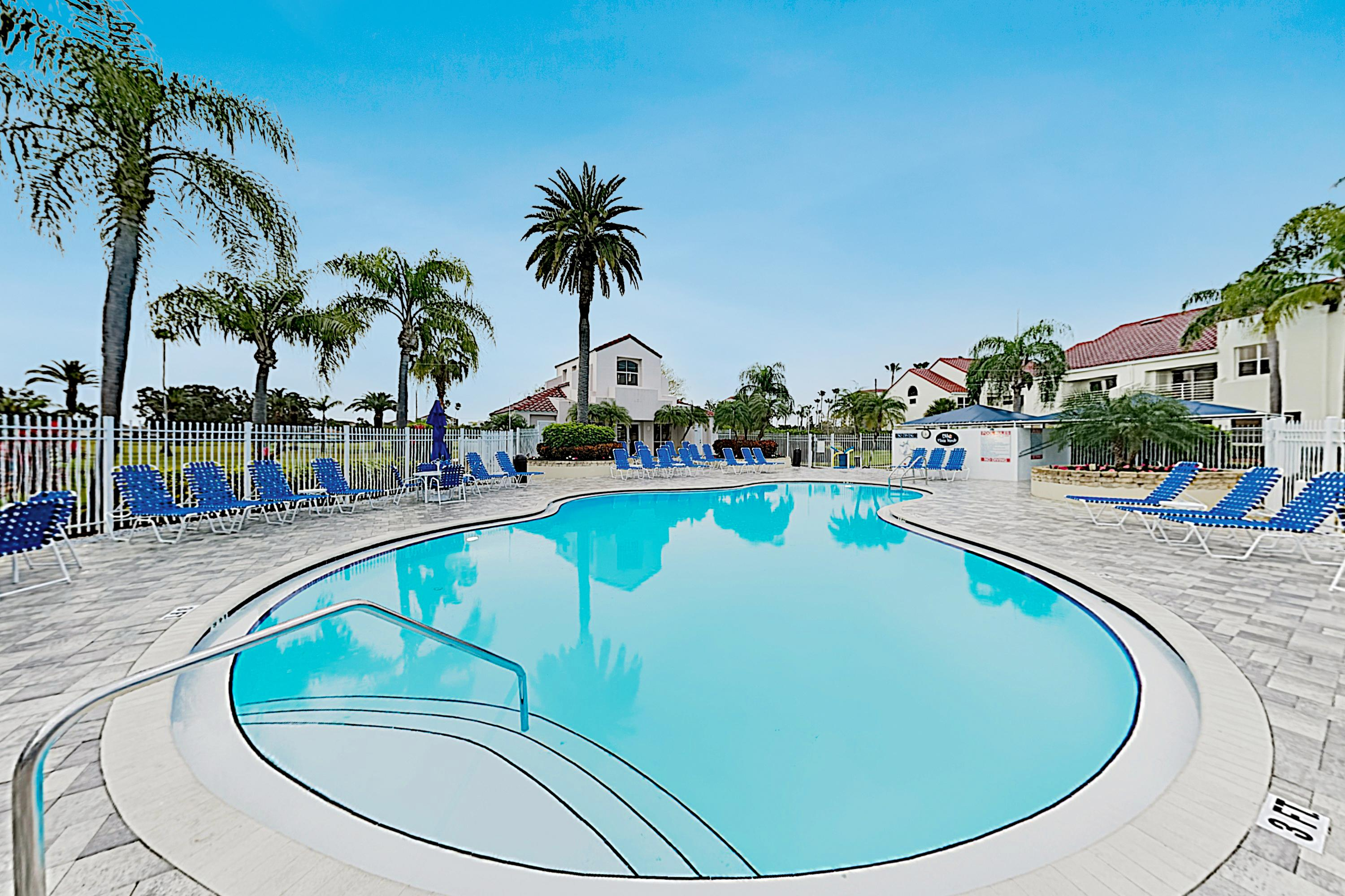 Spend leisurely days by the community pool.
