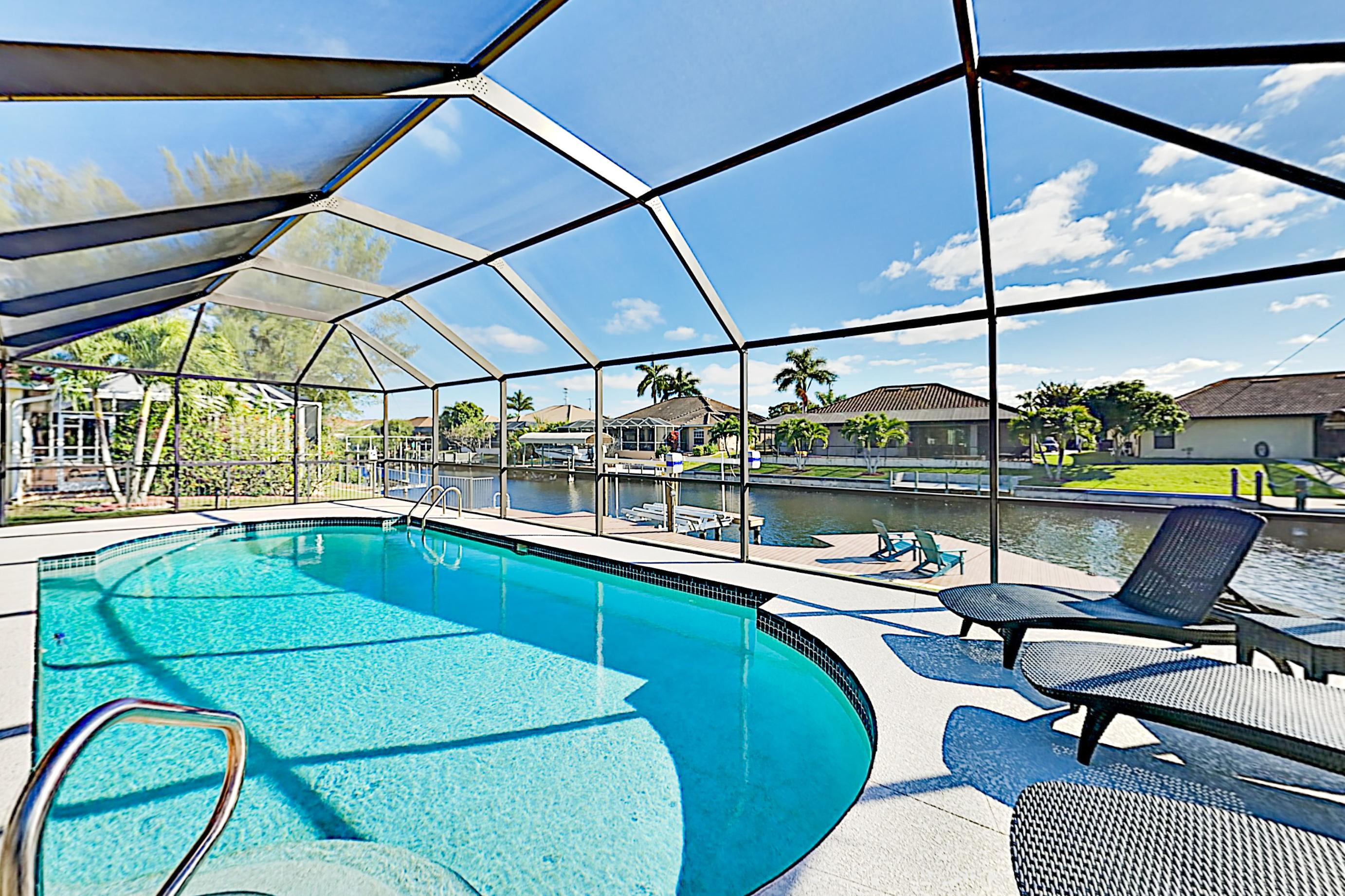 Property Image 1 - Peaceful Canal-Front Home with Screened Pool and Boat Dock