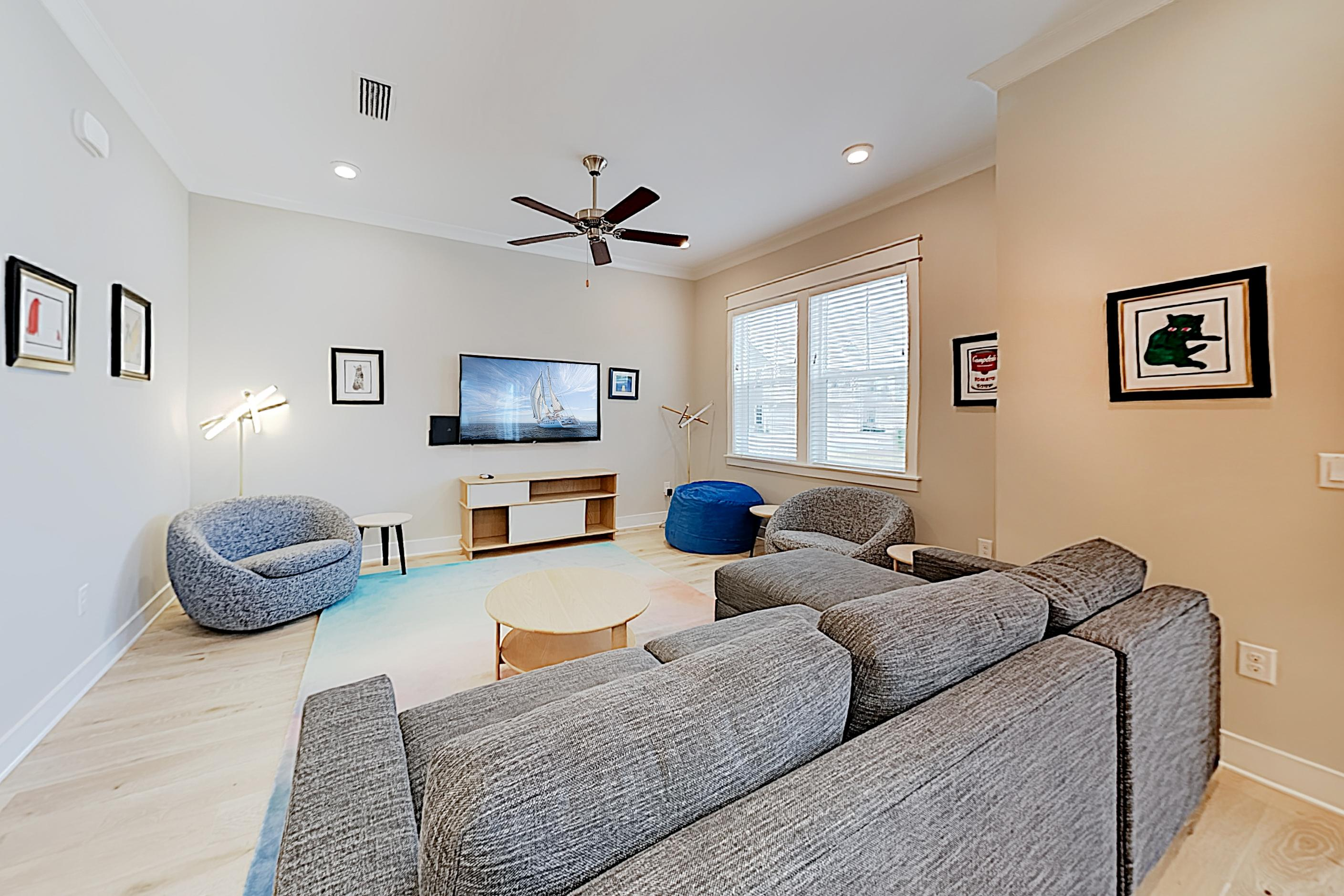 Welcome to Inlet Beach! This luxe Prominence townhome is professionally managed by TurnKey Vacation Rentals.