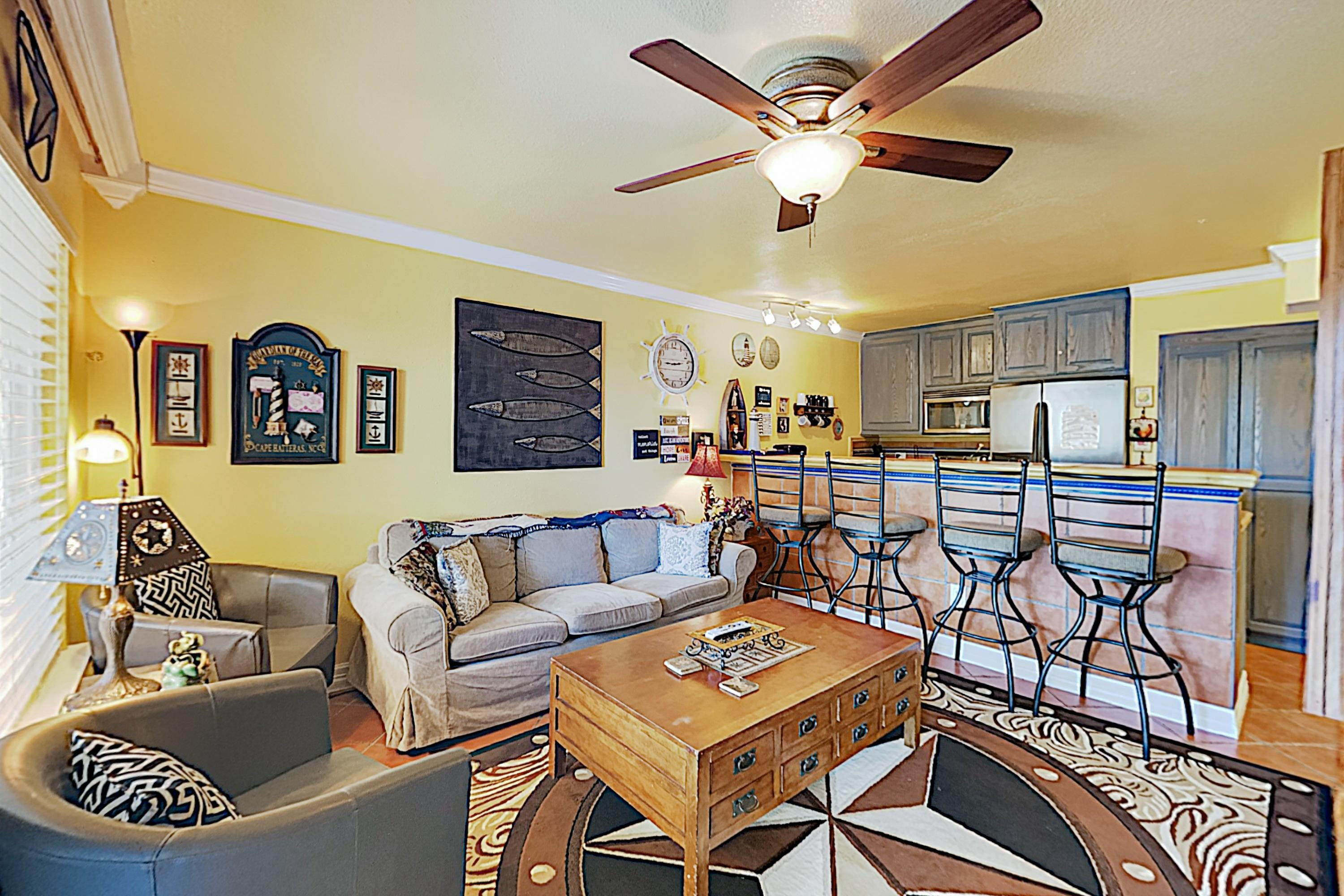 Welcome to Galveston! This Maravilla condo is professionally managed by TurnKey Vacation Rentals.