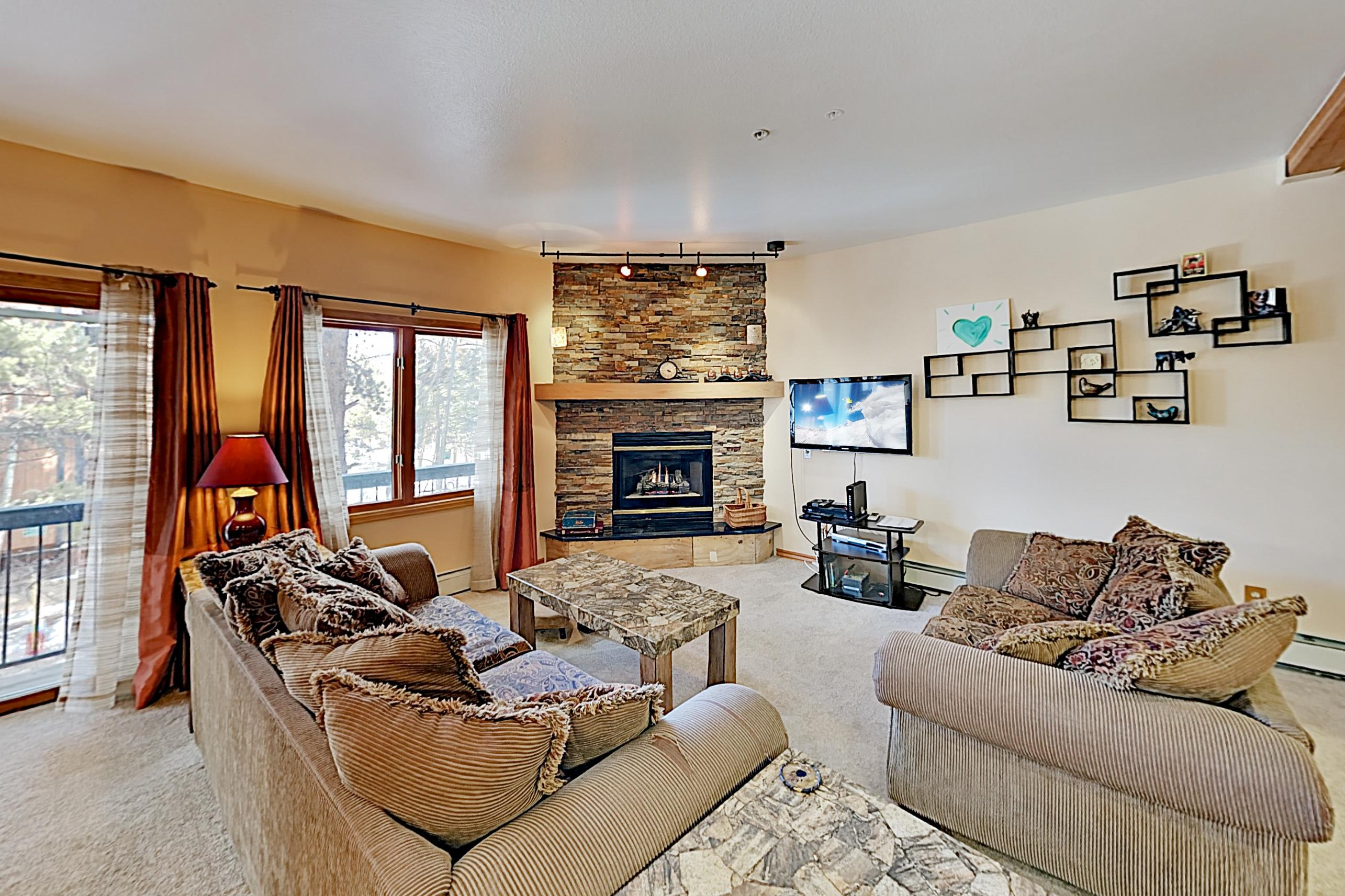 Property Image 1 - Rustic & Stylish, Ski-In/Out Condo with Pool & Hot Tub Access