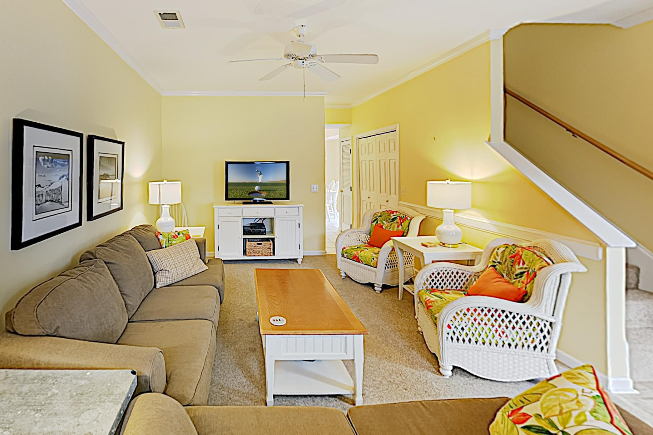 Welcome to the beach! This duplex is professionally managed by TurnKey Vacation Rentals.