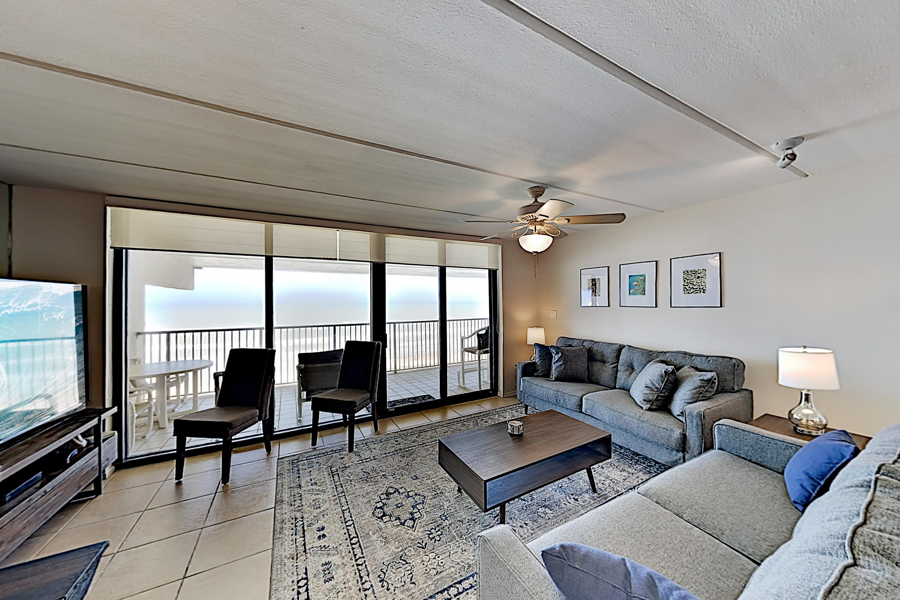 Welcome to Suntide III #1008! This beachfront condo is professionally managed by TurnKey Vacation Rentals.