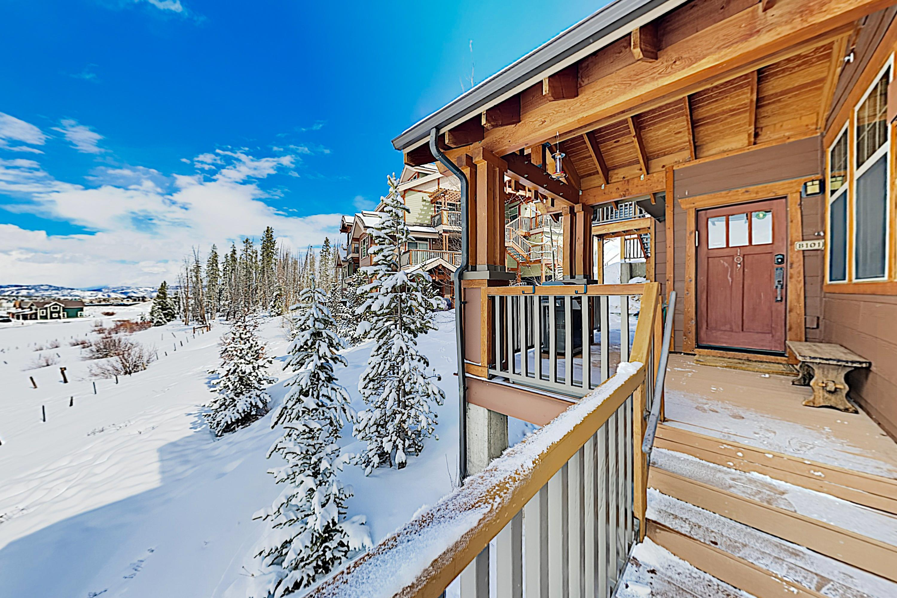 Property Image 1 - Relaxed Mountain View Condo with Hot Tub; Near Skiing & Downtown