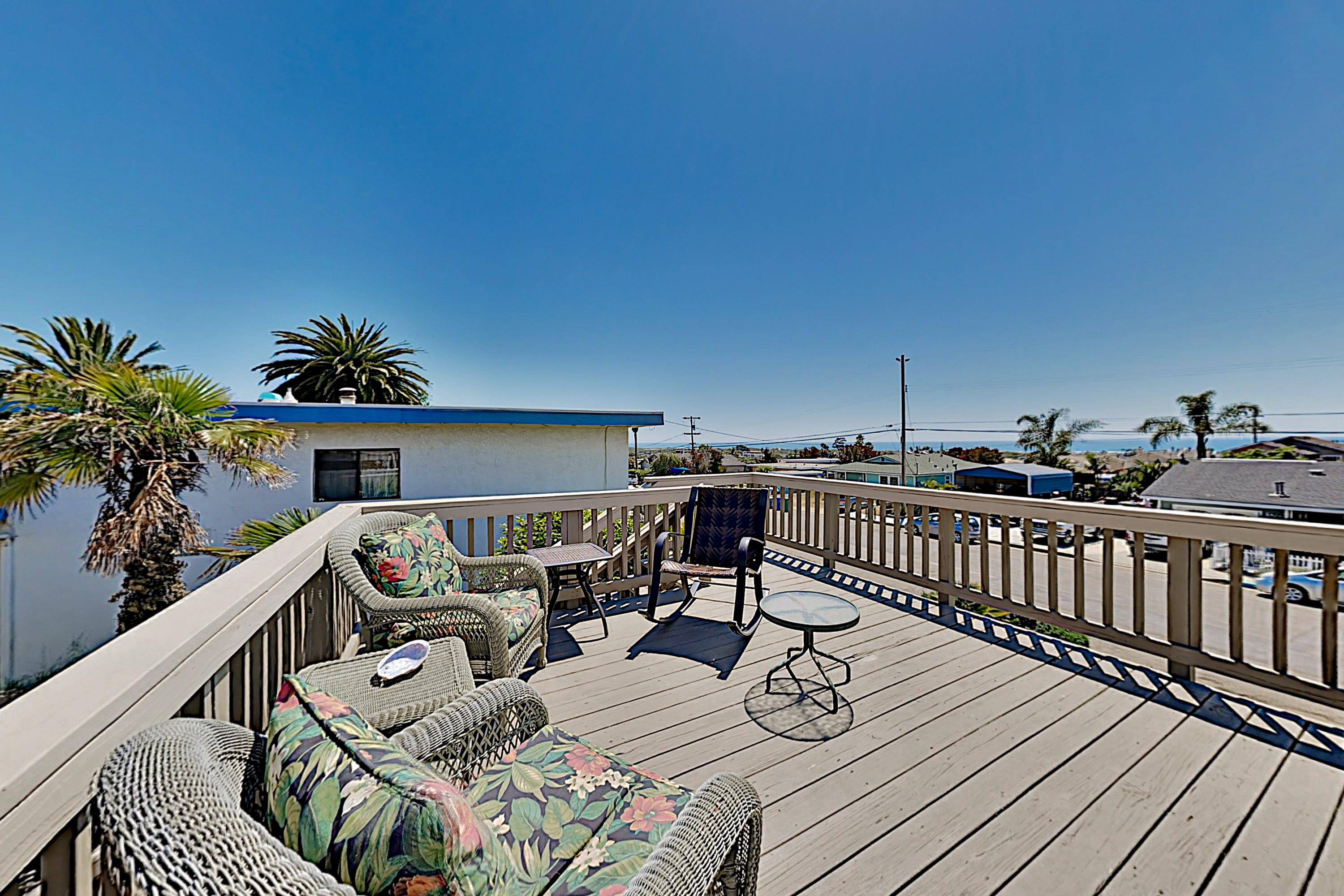 Property Image 1 - Ocean-View Retreat: Deck & Game Room, Near Beach!