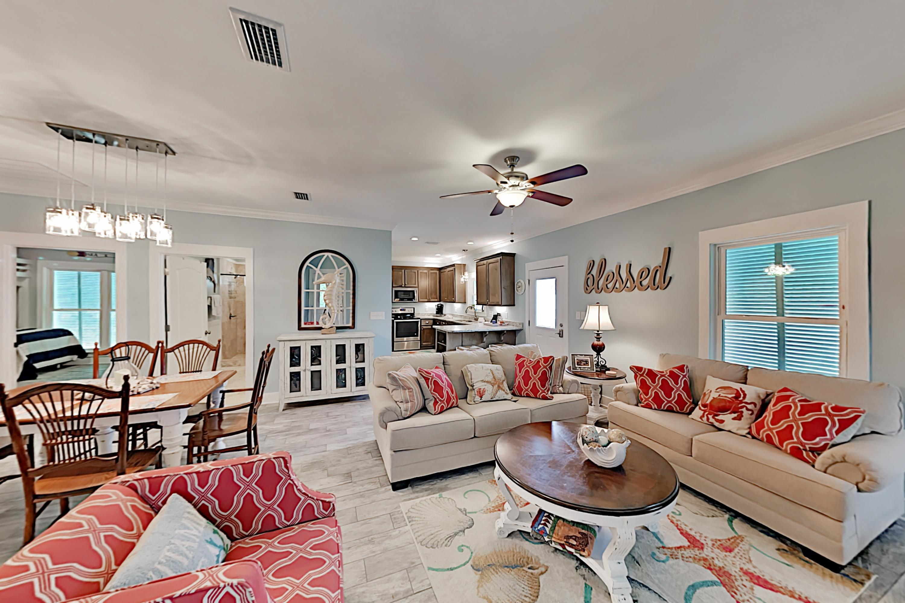 Property Image 1 - Stylish Beach Cottage w/ 2 Pools & Screened Deck