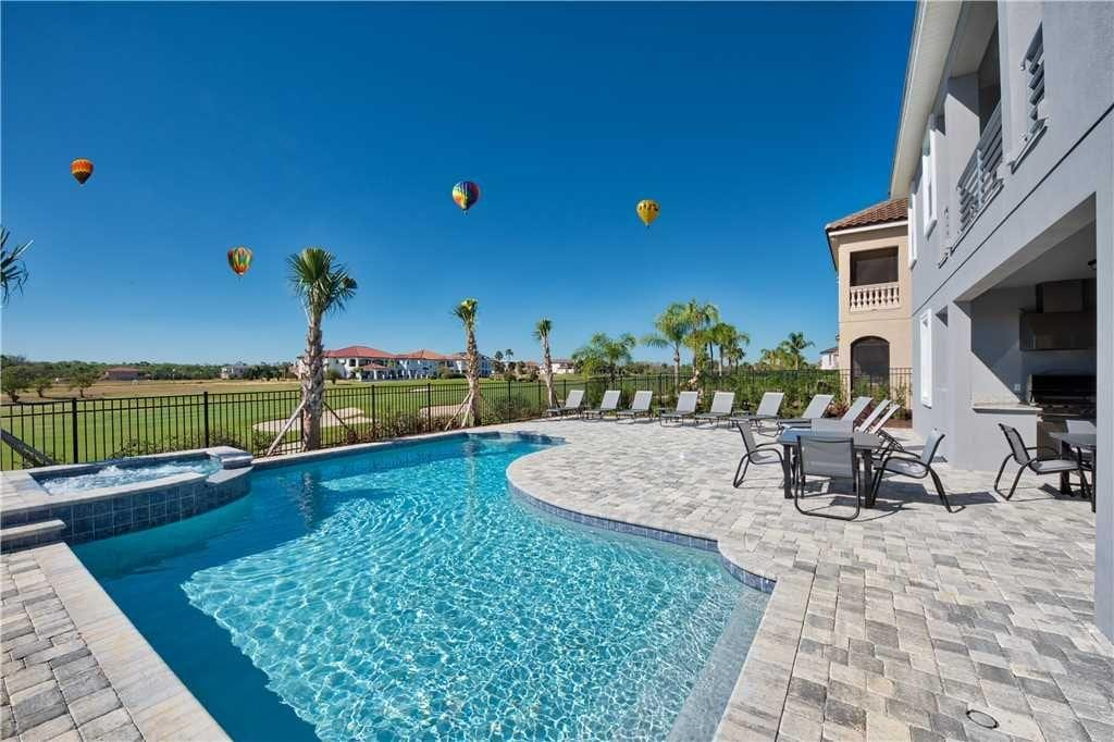 Property Image 1 - Luxe Home with Pool, Spa, Game & Movie Room, Near Disney