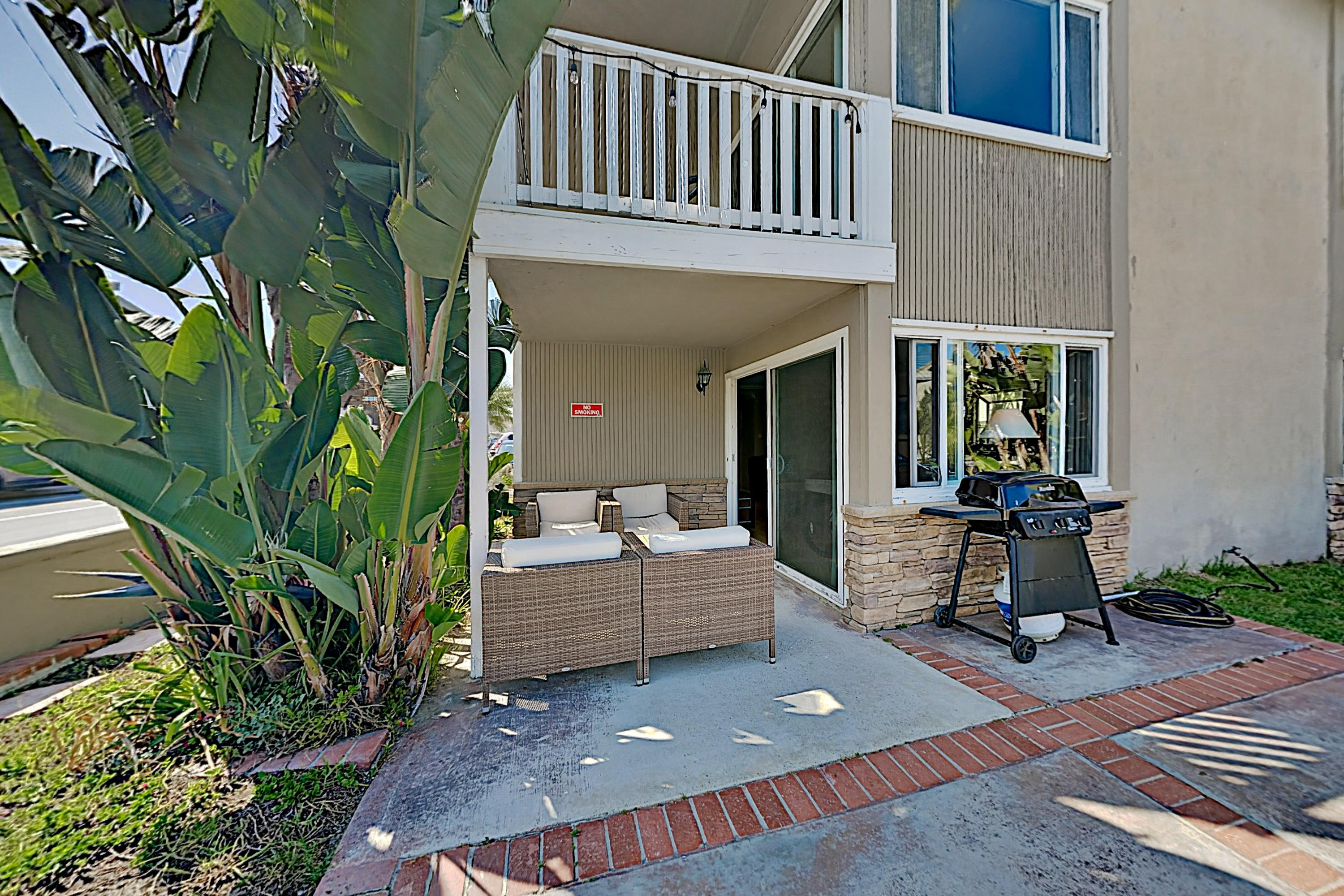 Property Image 2 - 200' to Beach! Ocean-Side Duplex w/ Yard & Grill