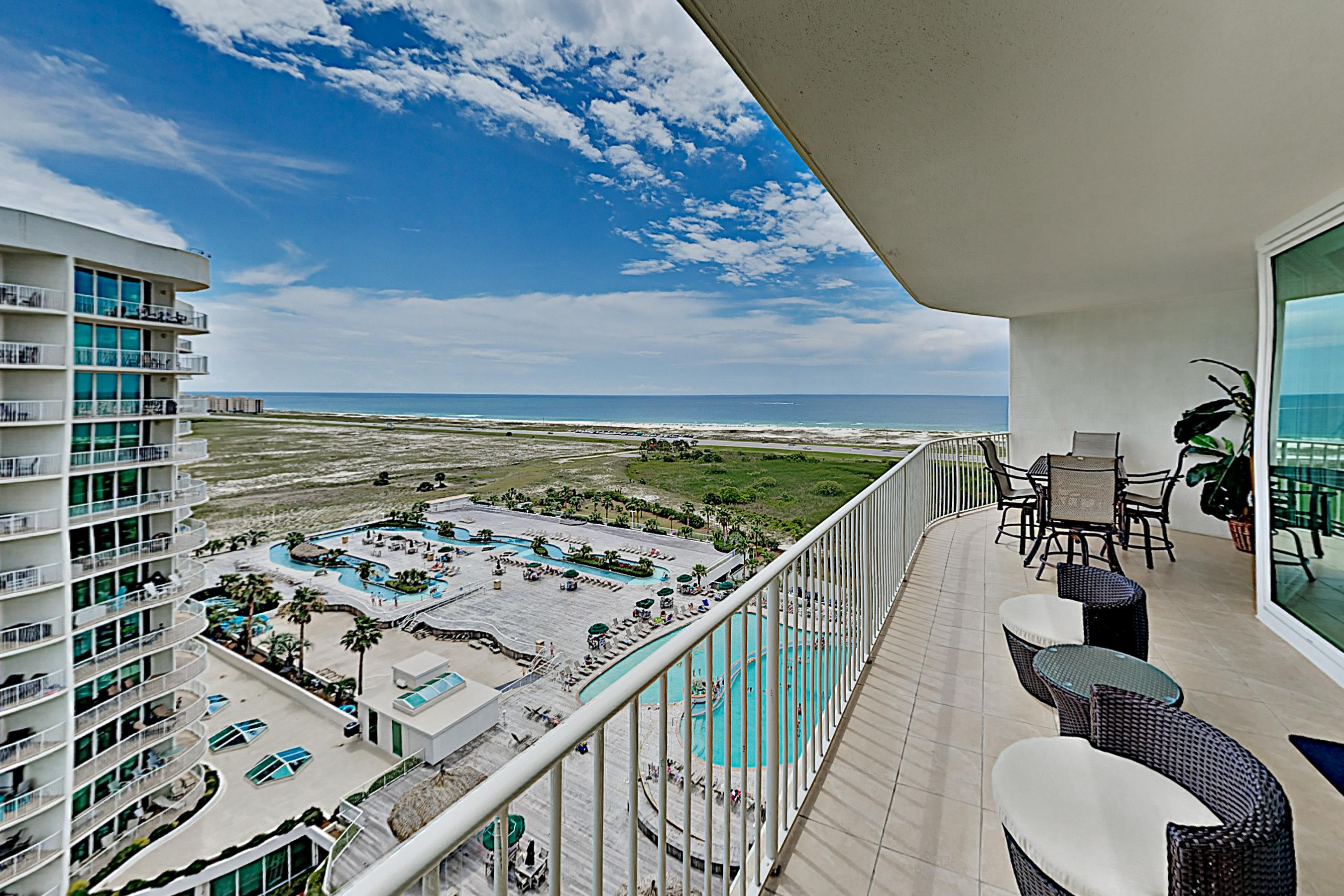 Property Image 1 - Modern Gulf View Condo with Lazy River, Sauna & Tennis