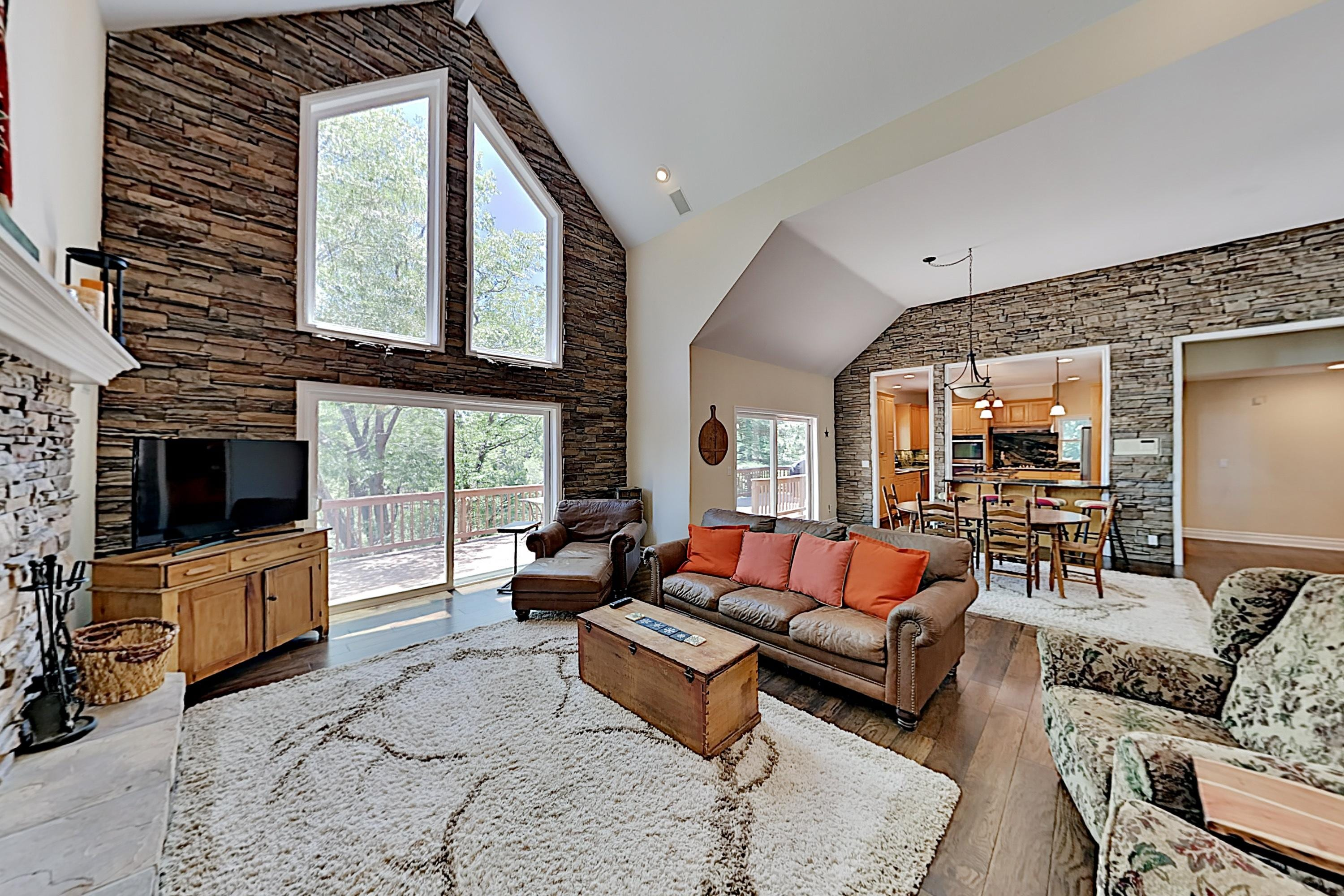 Property Image 2 - Custom Timberline Lodge with Large Decks & Game Room
