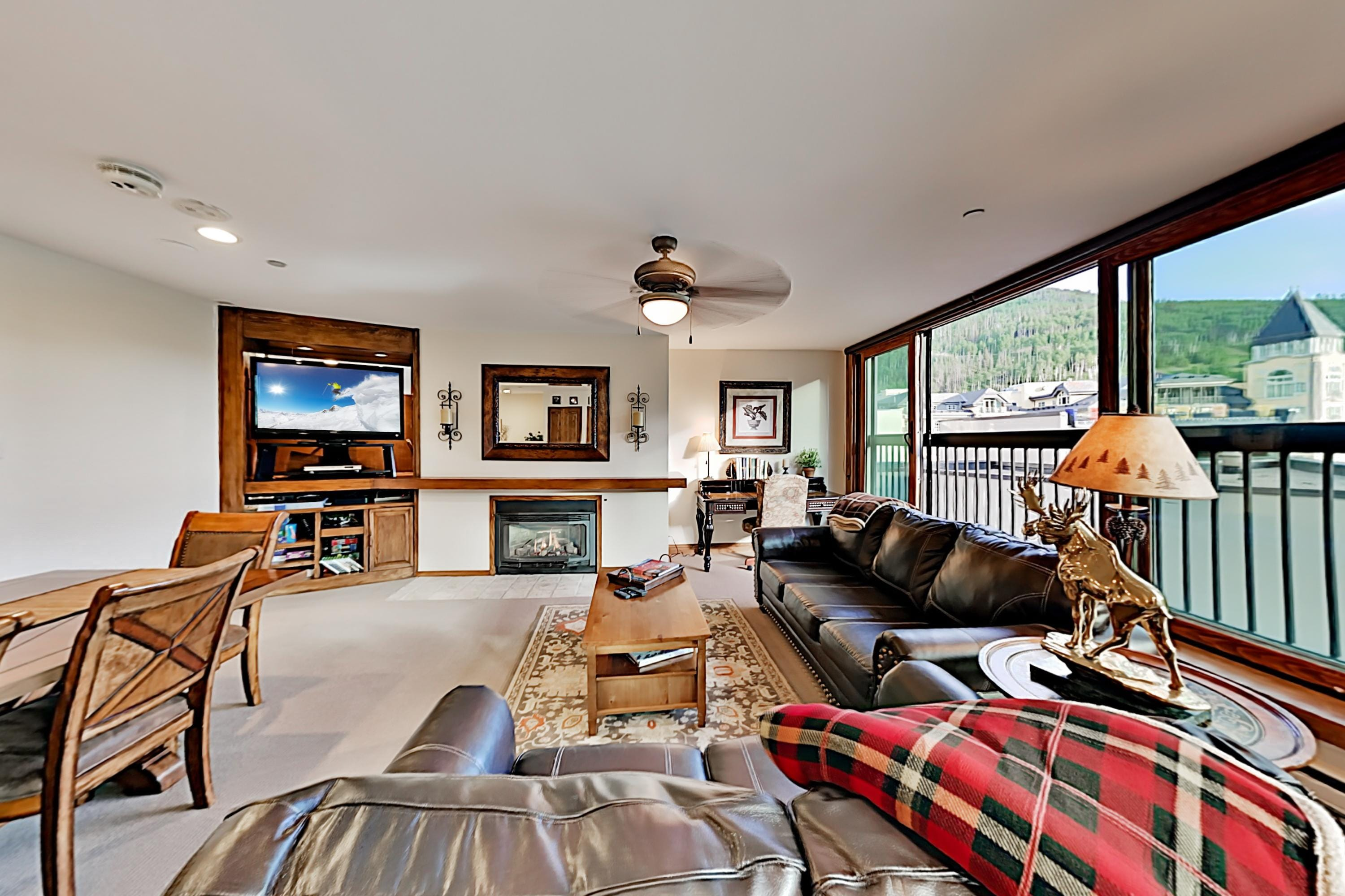 Property Image 1 - Vail Spa Condo with Expansive Views & Pool, Near Ski Lifts