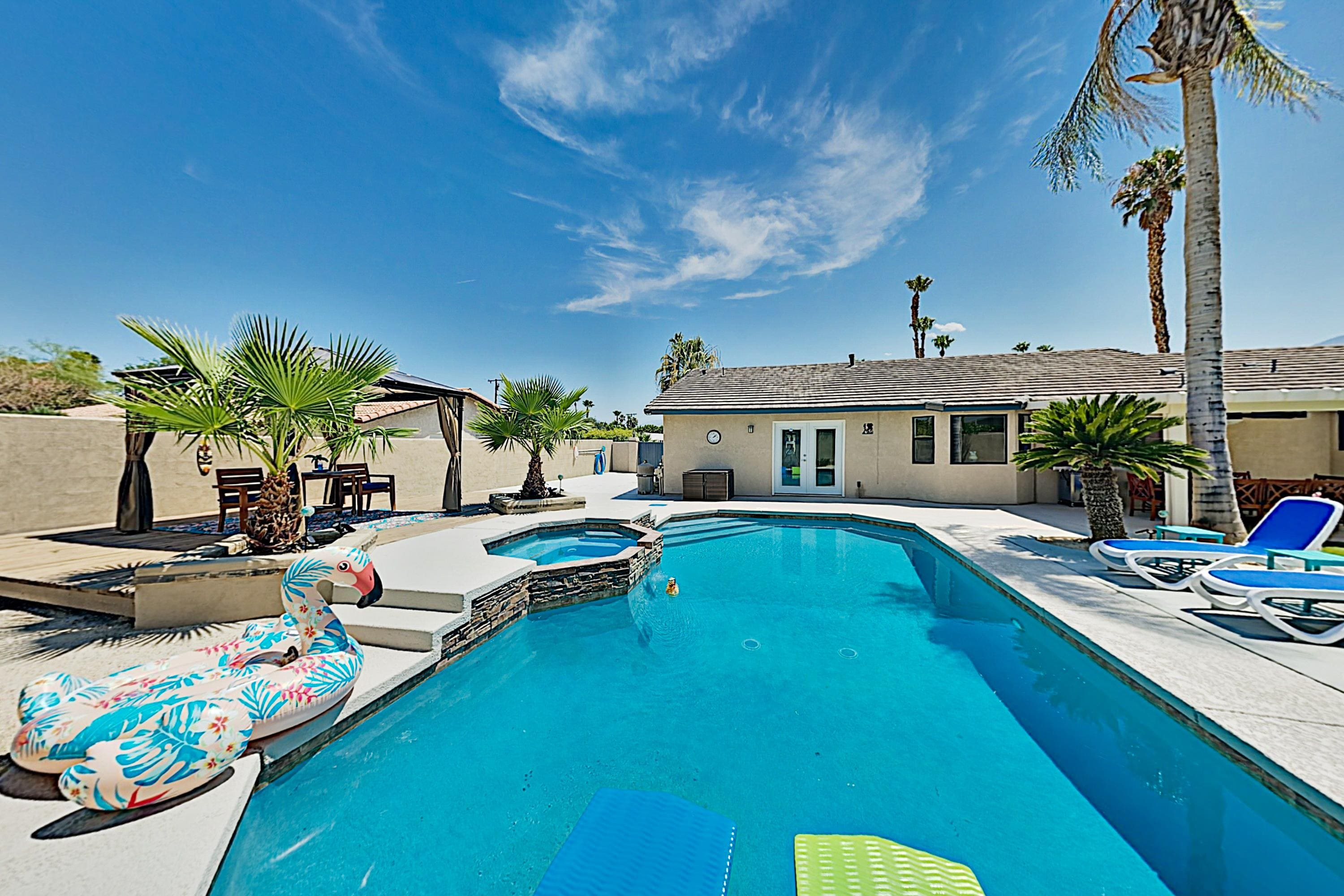 Property Image 1 - 3BR/2BA Luxe Retreat in Desert Park Estates w/ Pool & Spa