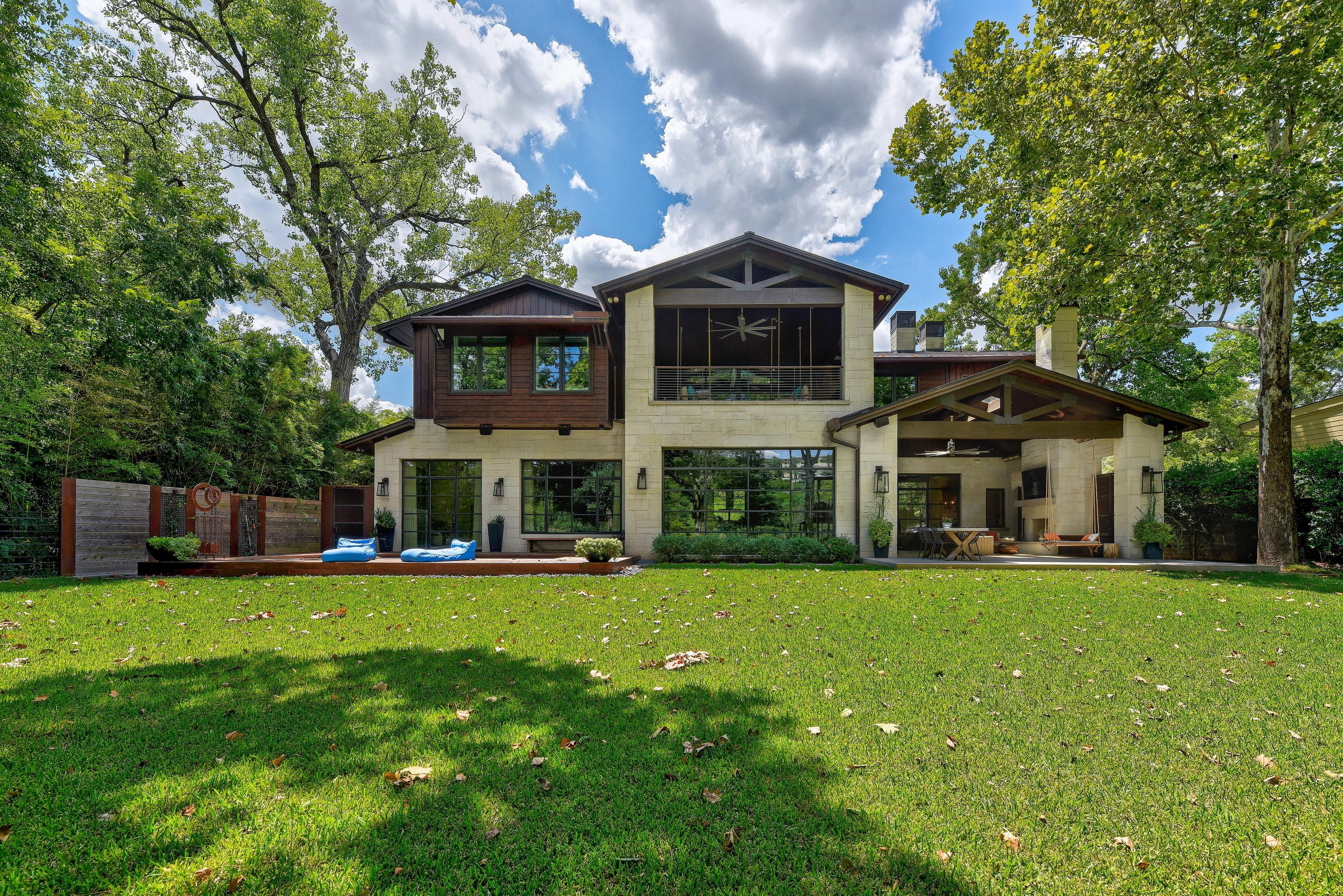 Exquisite Lakefront Estate with Pier & Pool