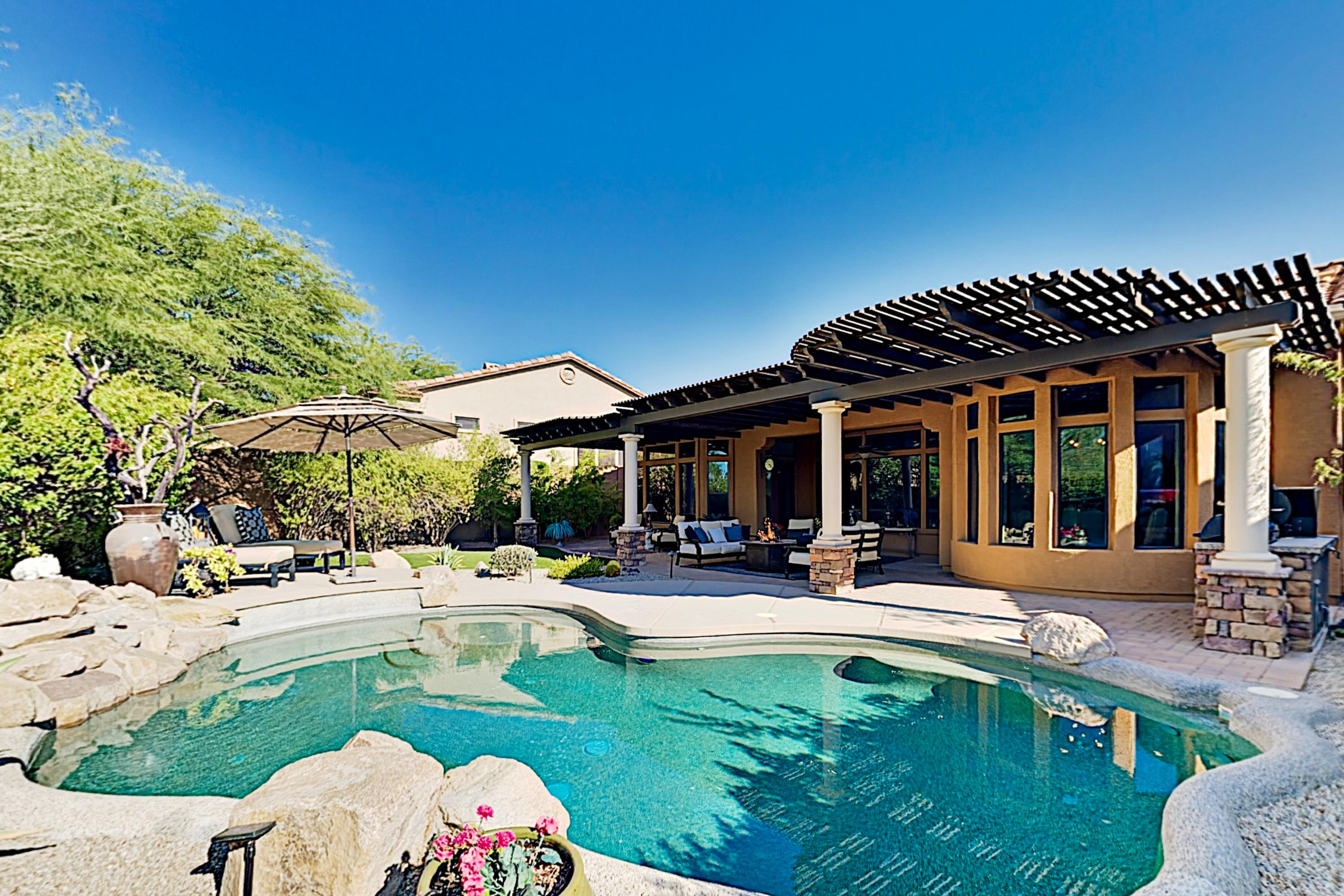 Property Image 1 - LAVISH LAS SENDAS RETREAT WITH OUTDOOR LIVING