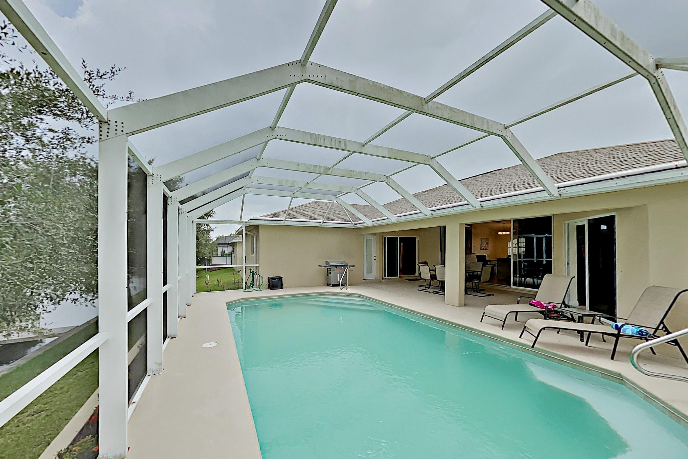 Property Image 1 - Peaceful Canal-Front Escape: Heated Saltwater Pool