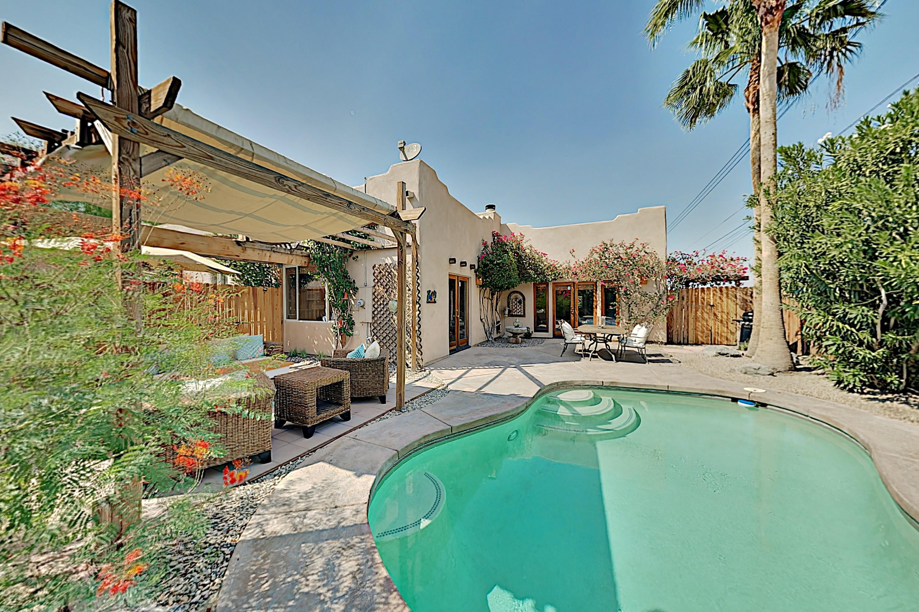 Property Image 1 - Desert Oasis with Private Pool & Alfresco Lounge