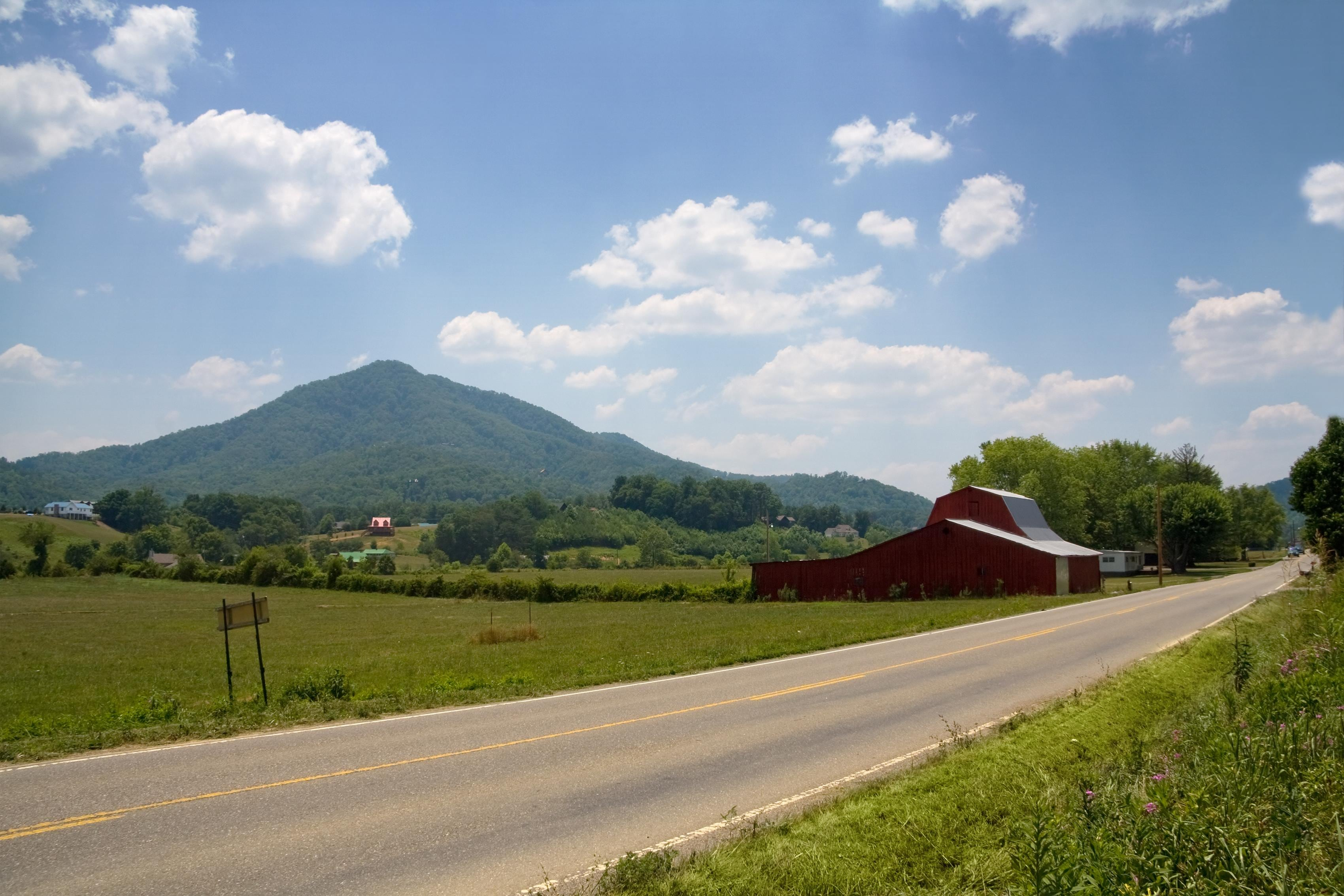 Sevierville - View of the valley