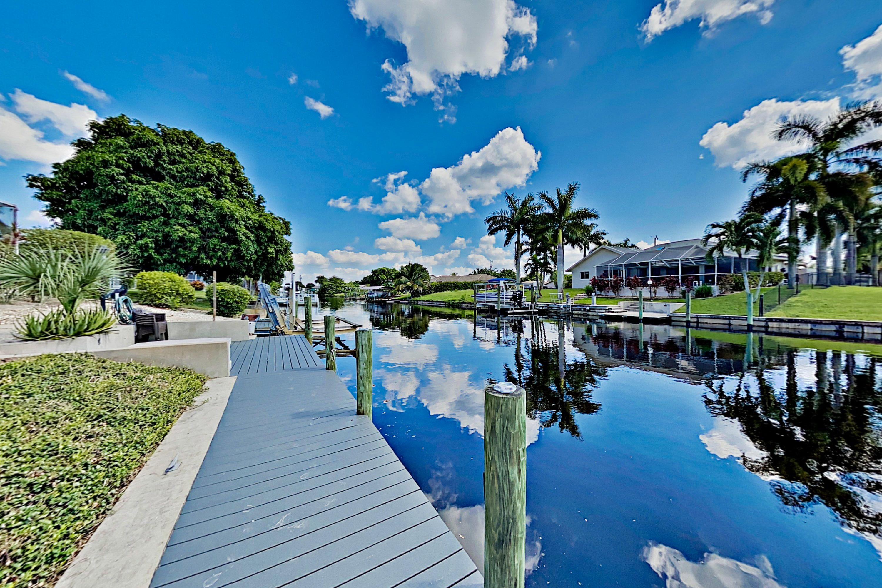 Property Image 2 - Canal-Front Coral Breeze | Pool, Spa, Gulf Access