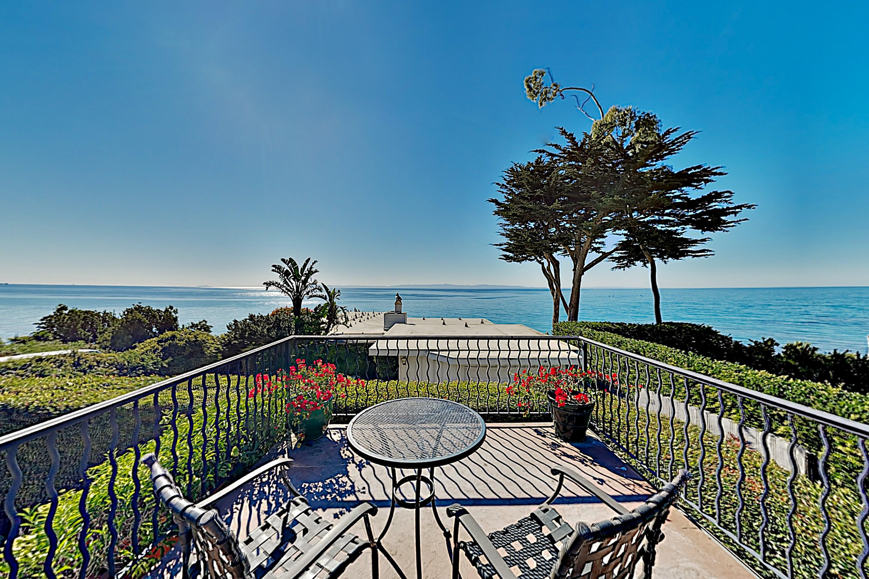 Panoramic Ocean-View Beach Getaway | Steps to Beach