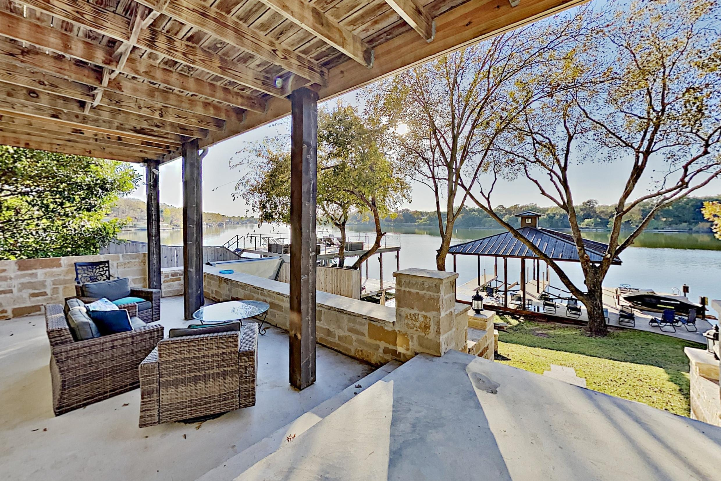 Property Image 1 - Opulent Waterfront Home | Dock, Hot Tub & Fire Pit