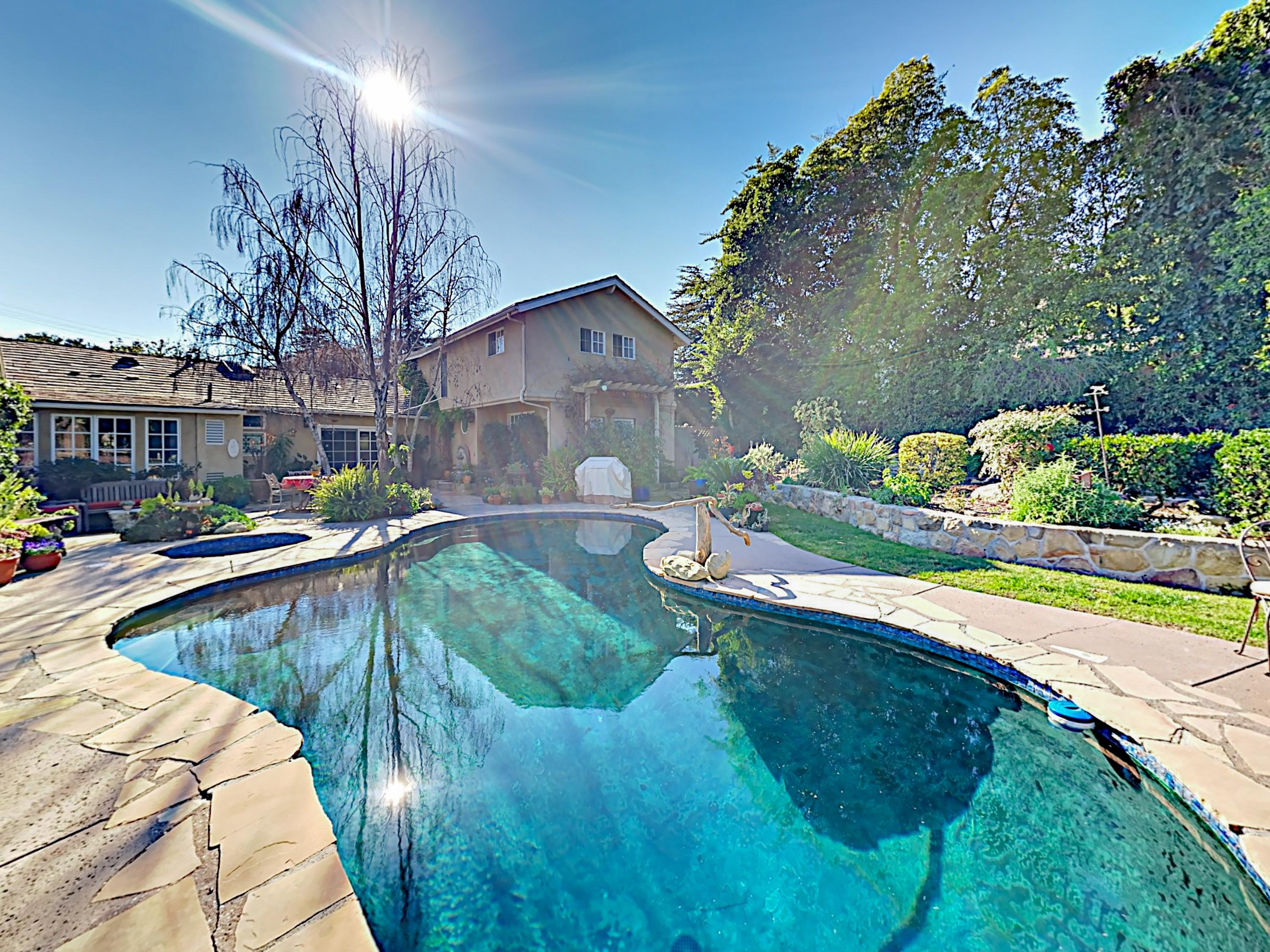 Two Bedroom Montecito Retreat with Pool & Spa