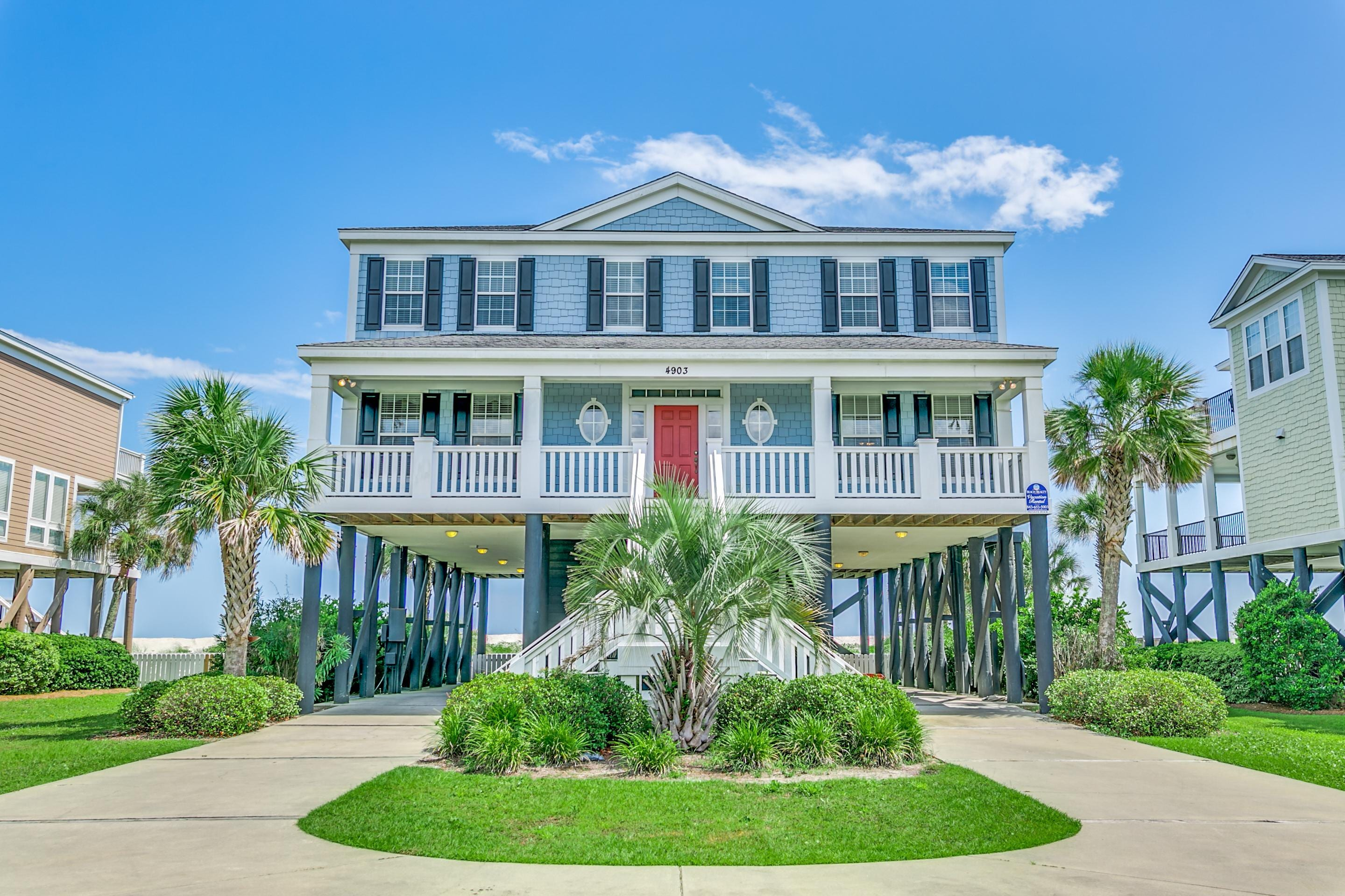 Beautiful Oceanfront Home with Private Pool and Hot Tub ...