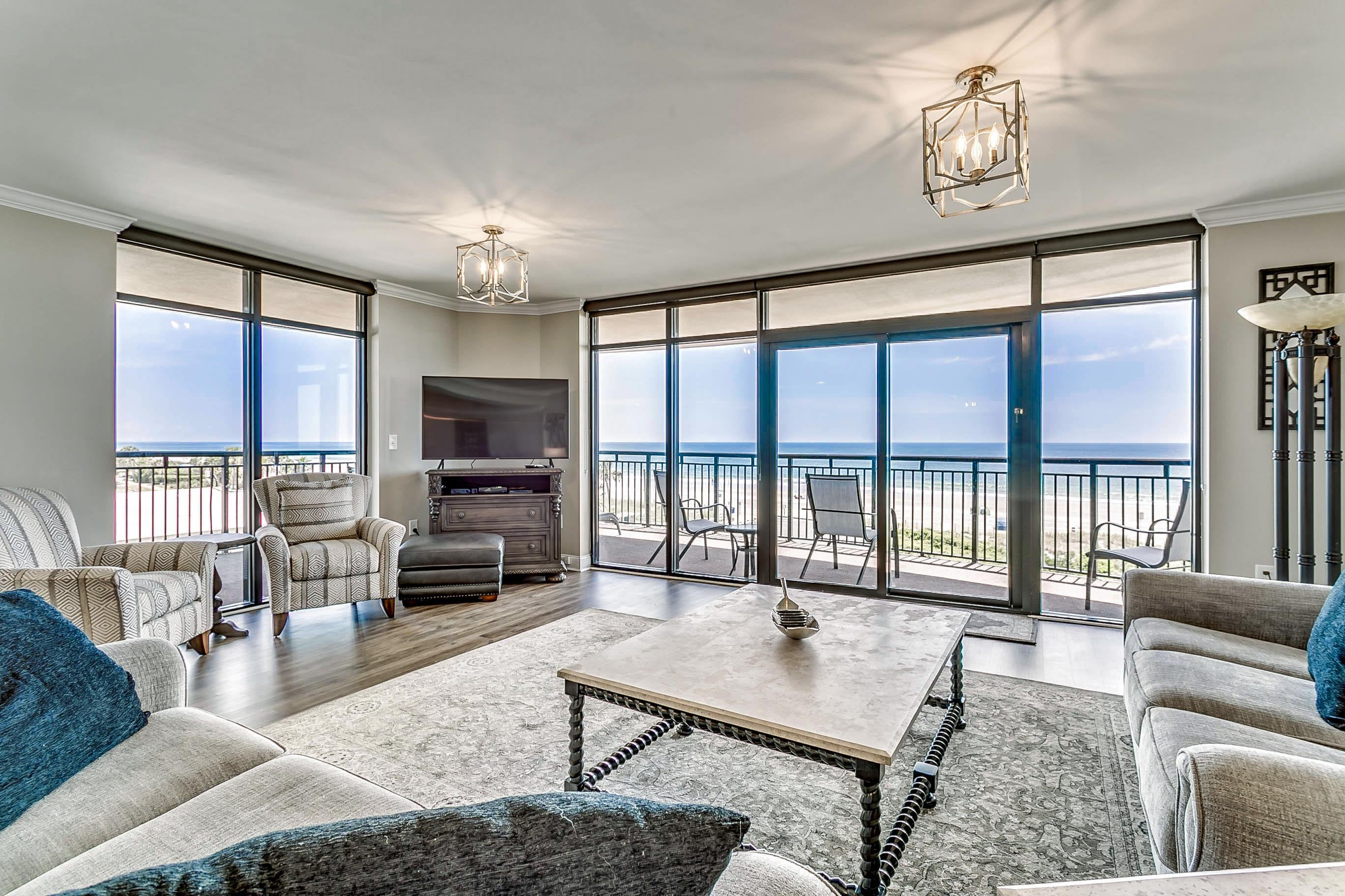 Property Image 1 - Stunning Oceanfront Condo with Huge Wraparound Balcony