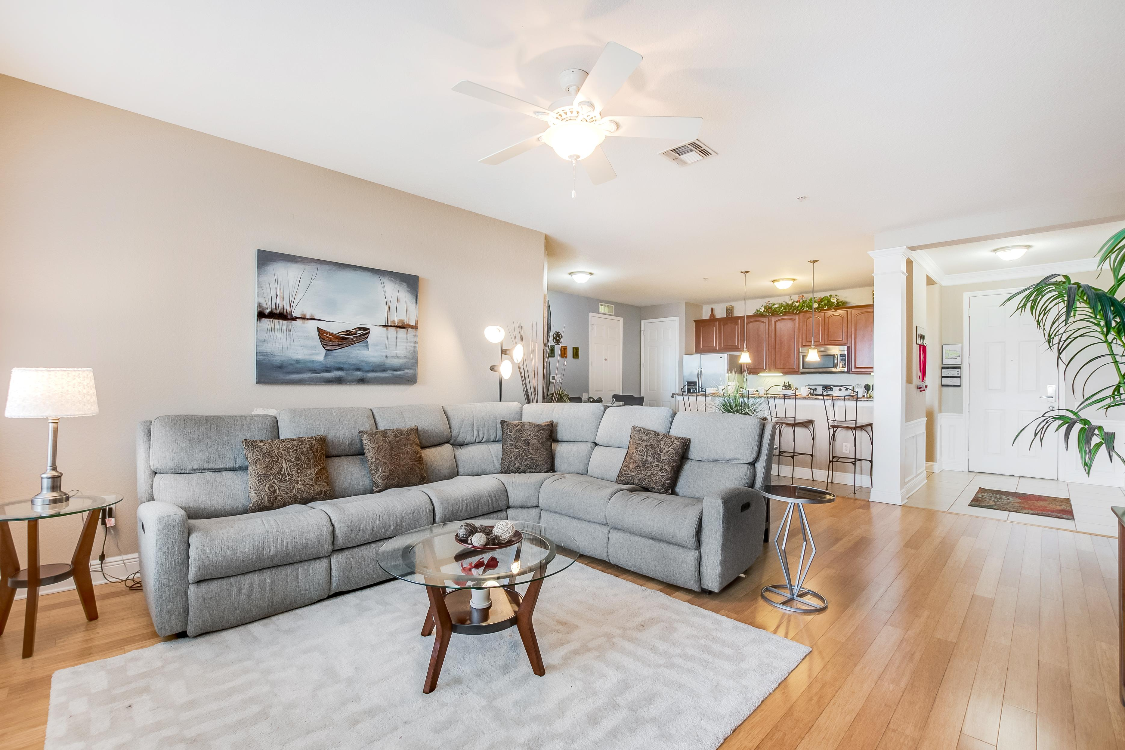 Sunlit, Lakeview Condo with Private Balcony, Near Clubhouse