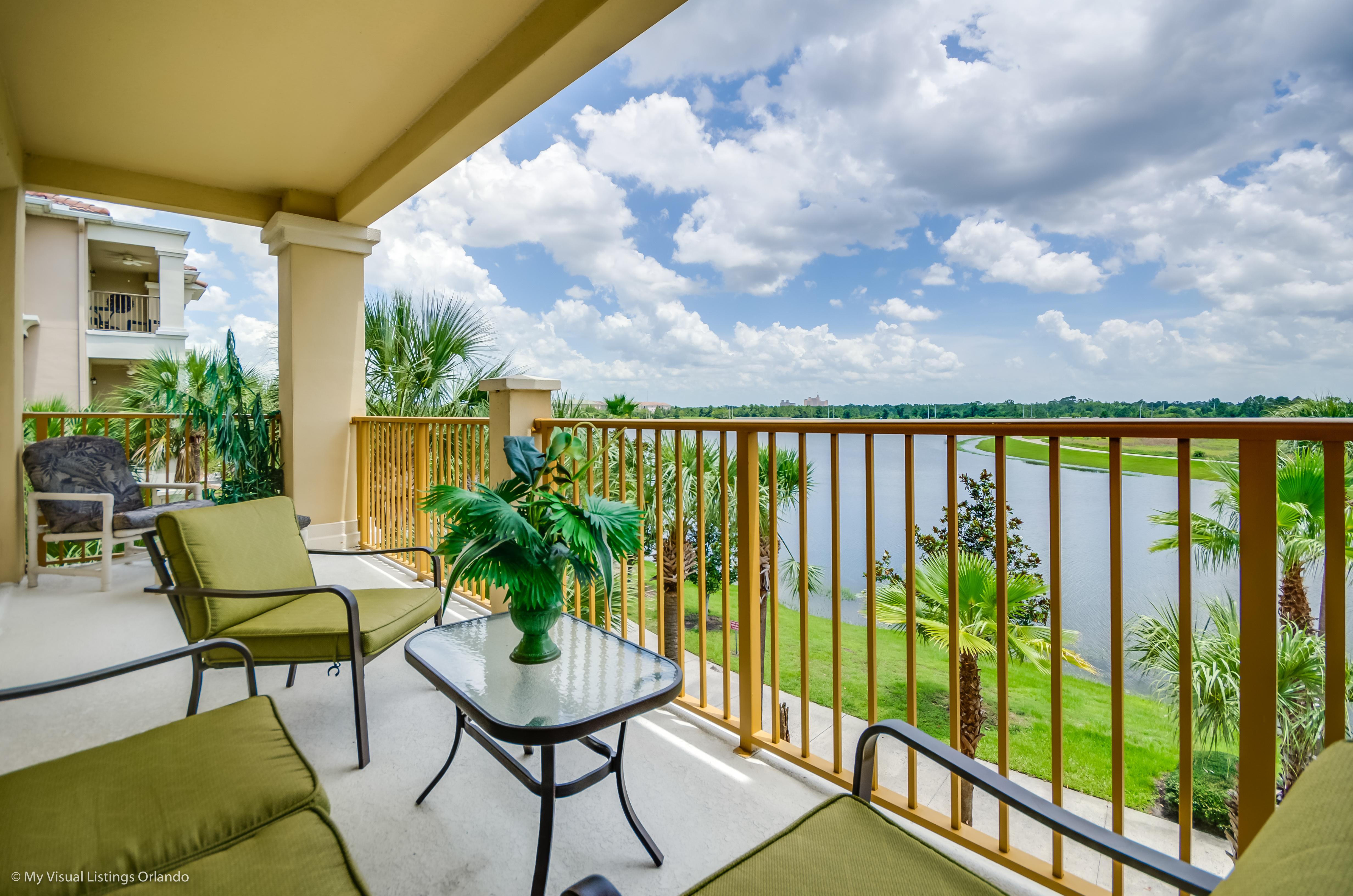 Stylish, Luxe Condo with Private Lakeview Balcony; Resort Access