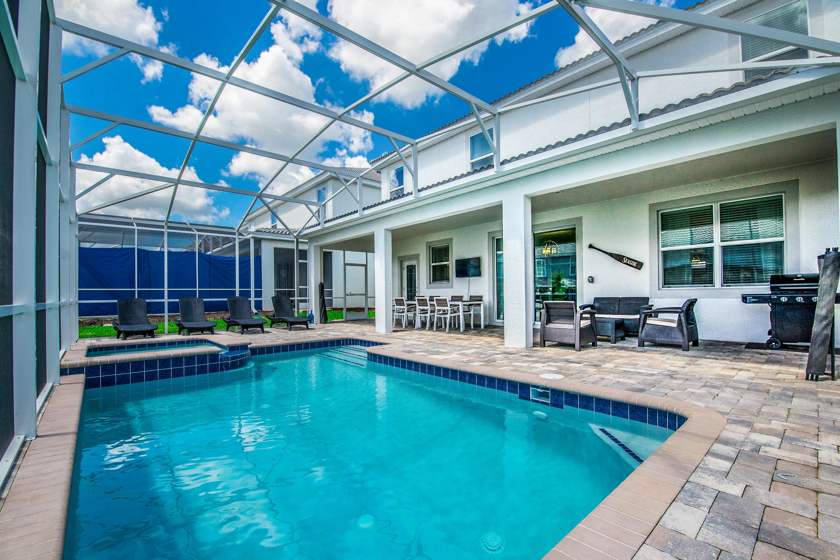 Property Image 1 - Chic Home with Game Room, Private Pool & Hot Tub; Clubhouse Access