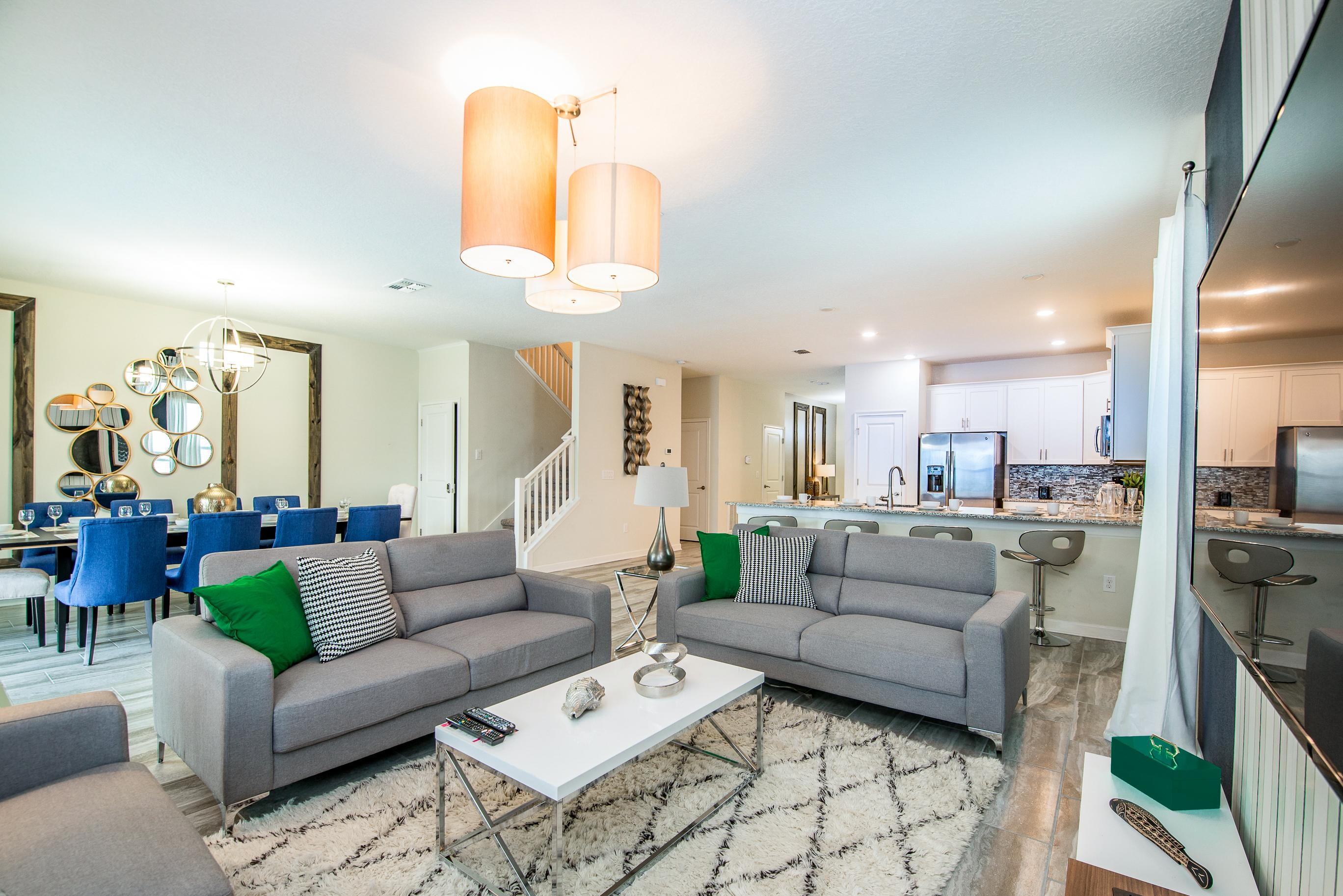 Property Image 2 - Chic Home with Game Room, Private Pool & Hot Tub; Clubhouse Access
