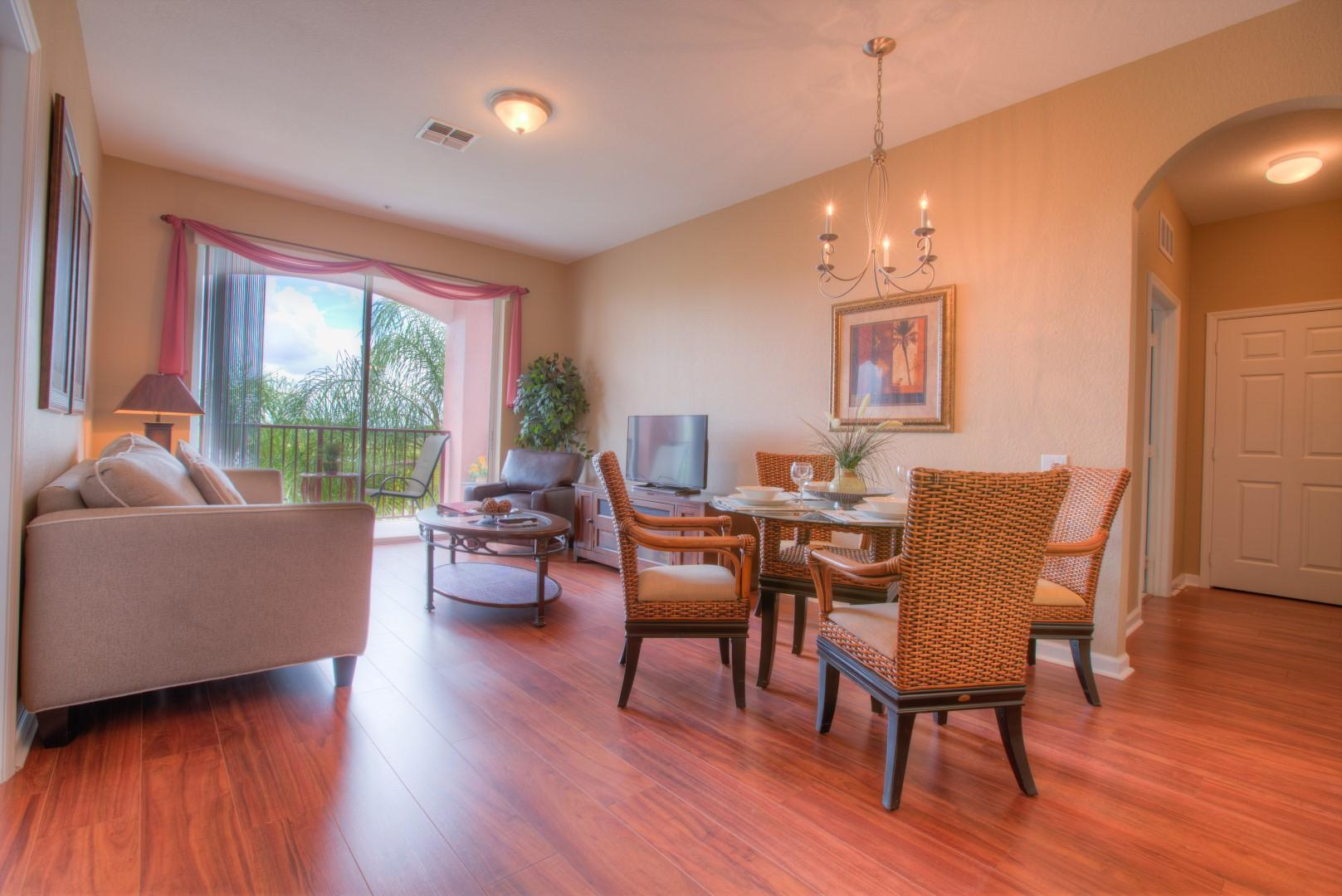 Cozy, Lake View Condo with Resort Access; Near Convention Center