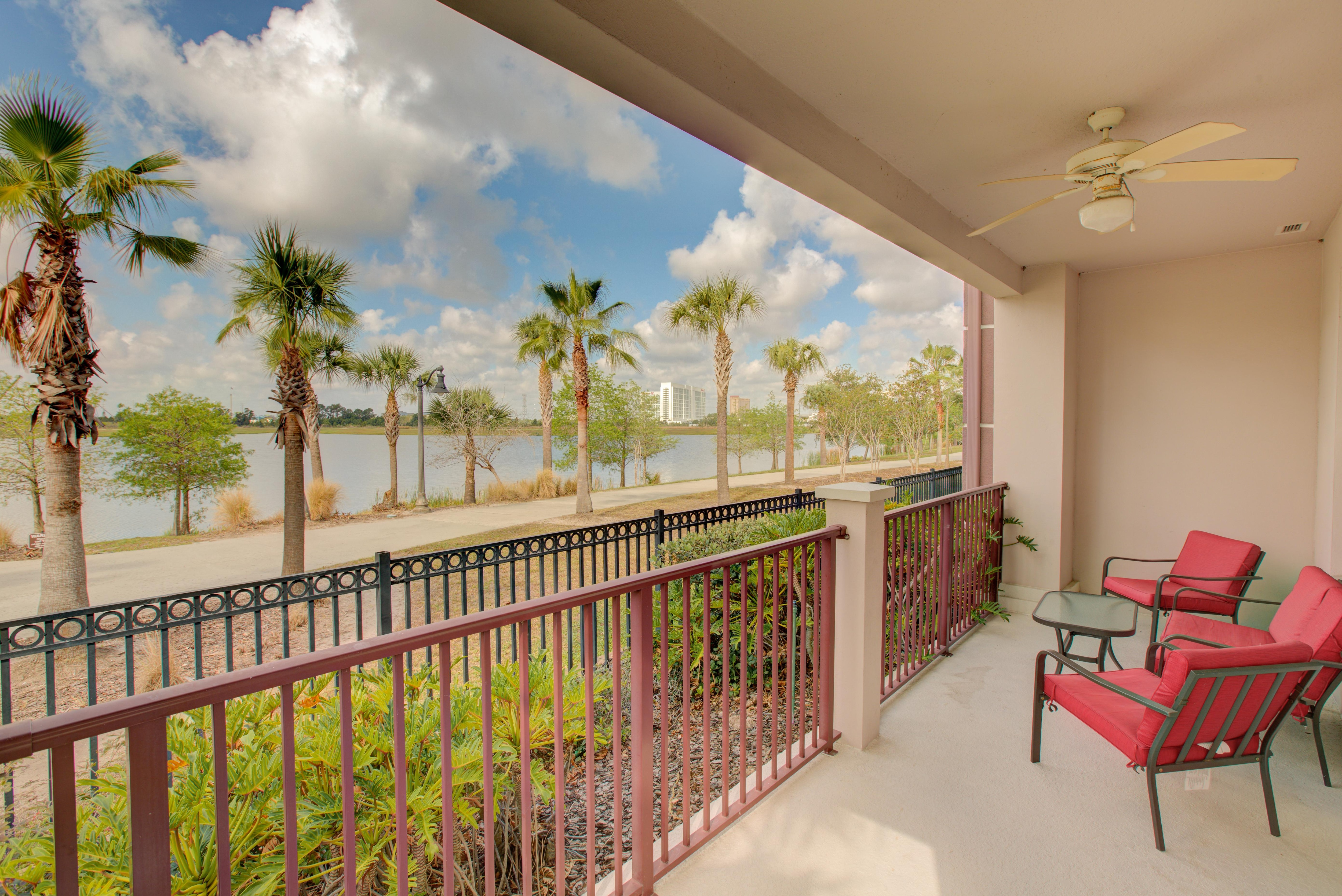 Property Image 1 - Spacious, Lake View Condo with Balcony; Near Clubhouse