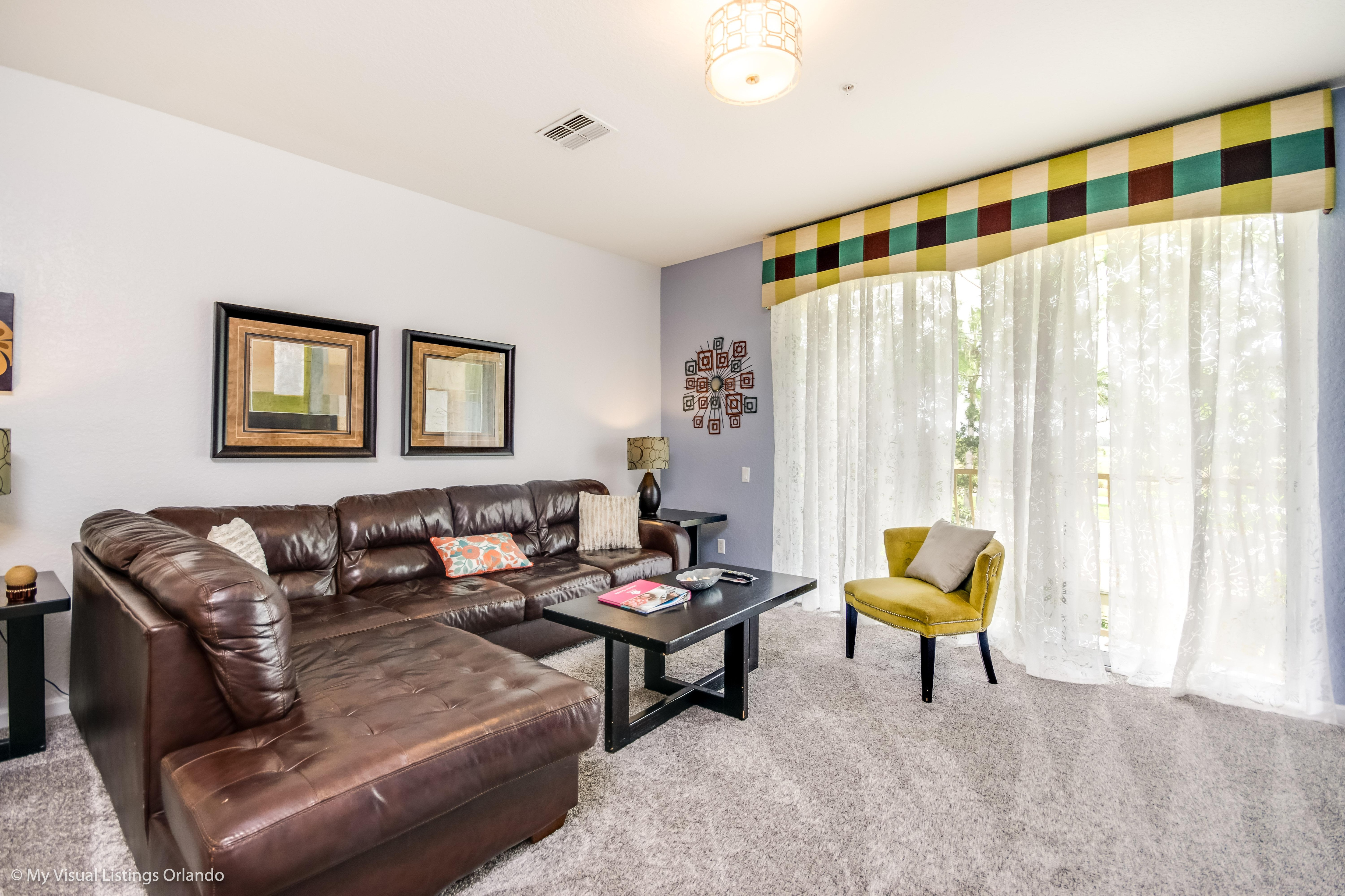 Stylish, Welcoming Townhome with Garage; Near Theme Parks