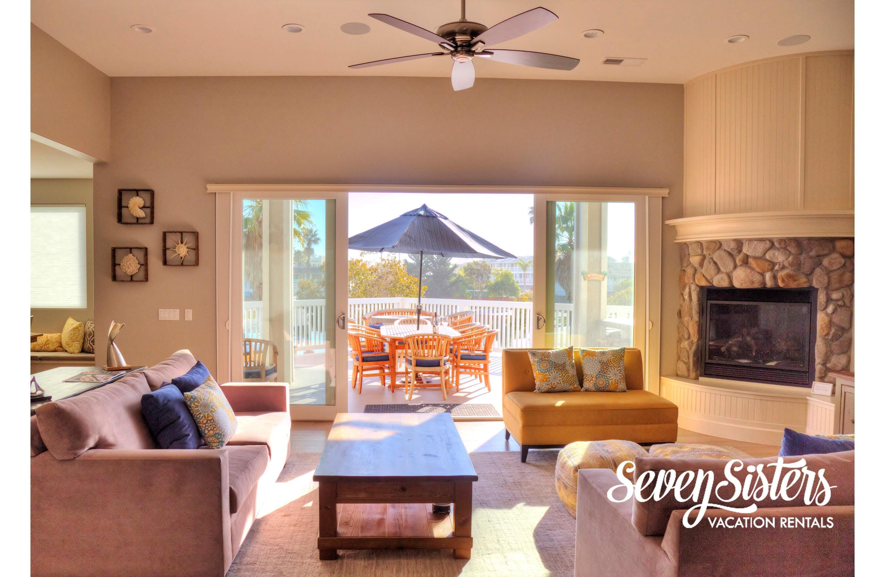 Luxurious 3-Master Suites Home with Panoramic Views of Ocean, Mountain and Golf Course Avila Beach