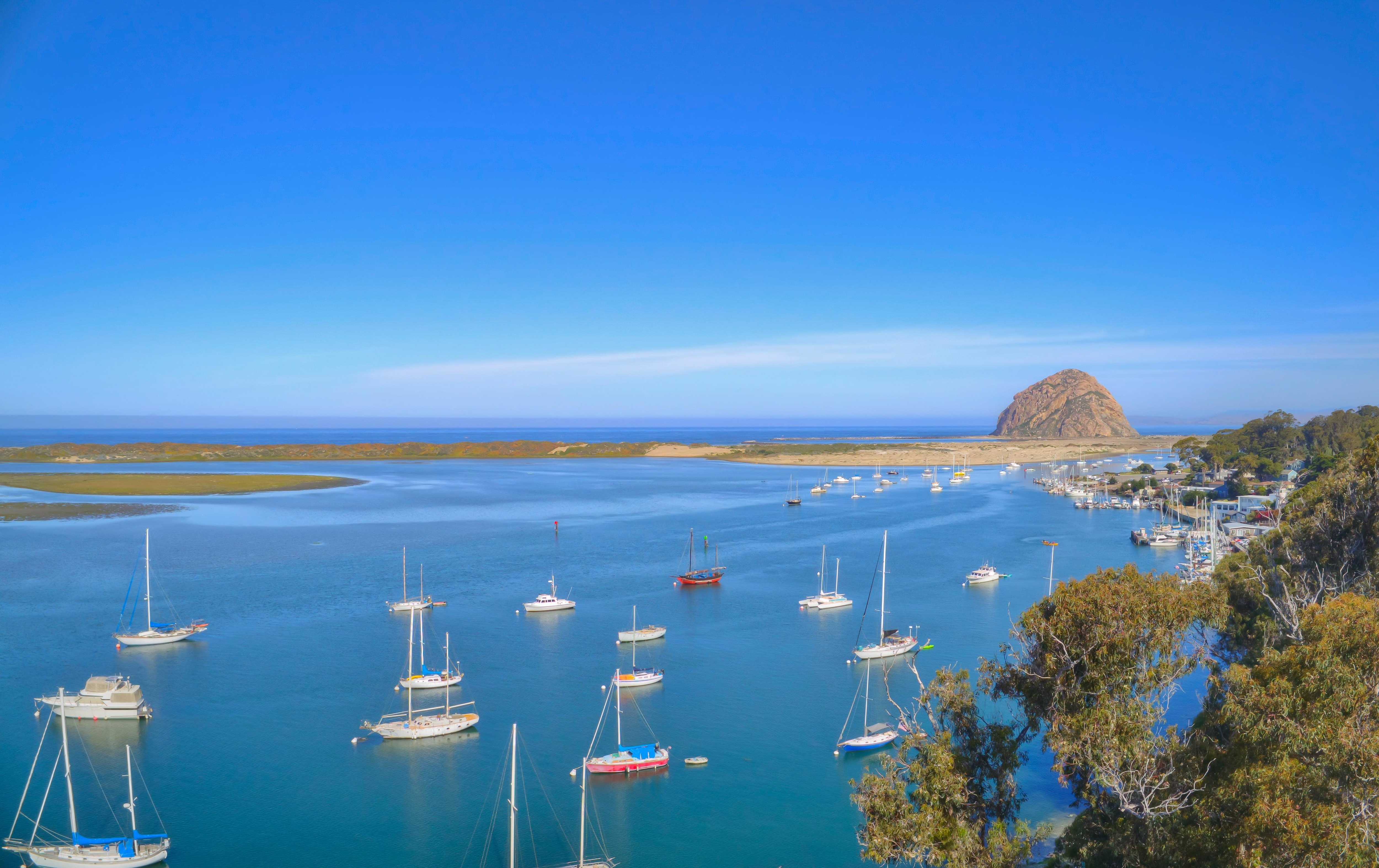 Hello Morro Bay. Take a quick trip to another nearby charming beach community, Morro Bay.