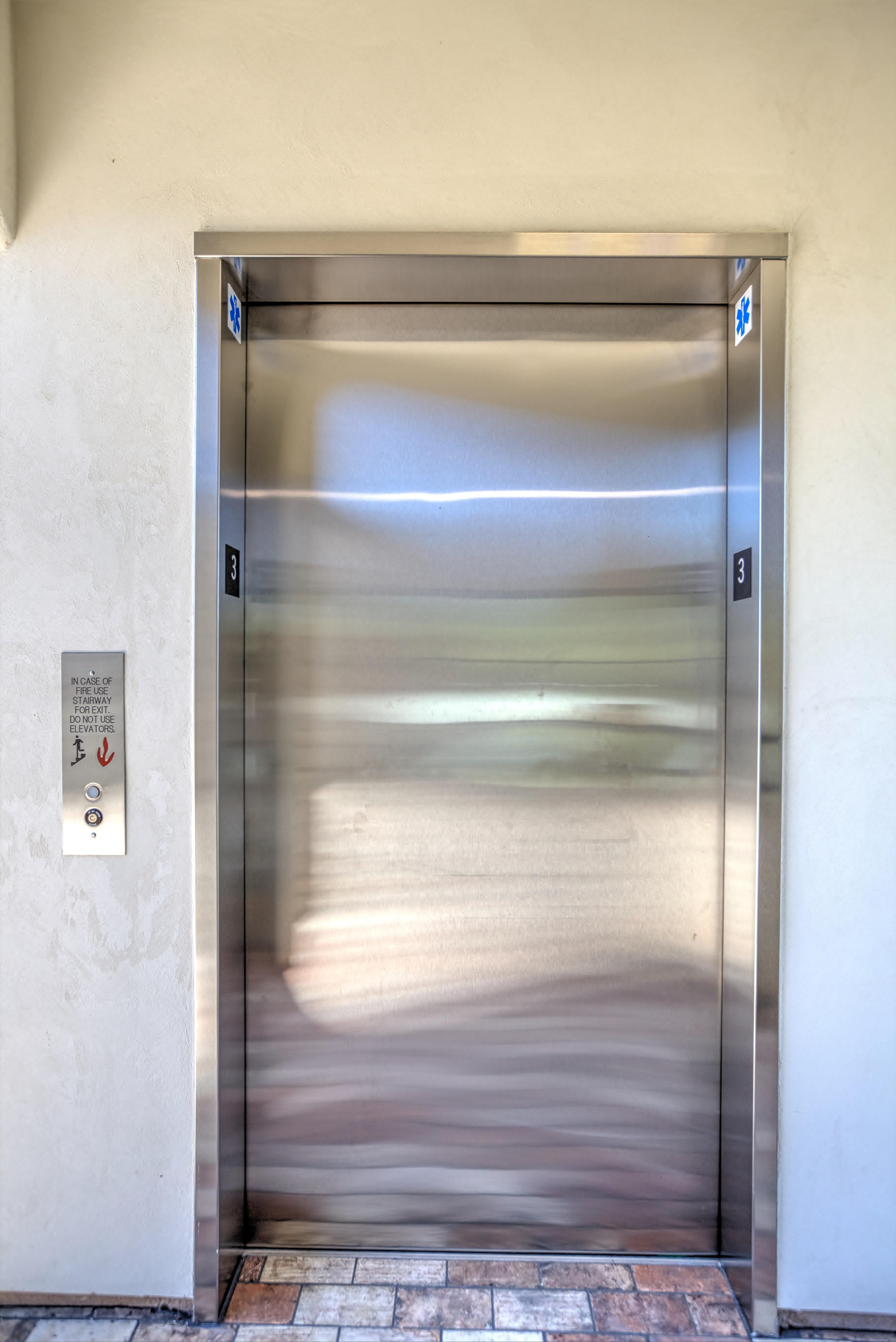 No need to tote luggage up the stairwell from the garage. Hitch a ride on the elevator. Traveling with a guest with limited mobility? It's nice to have the elevator and save those steps.