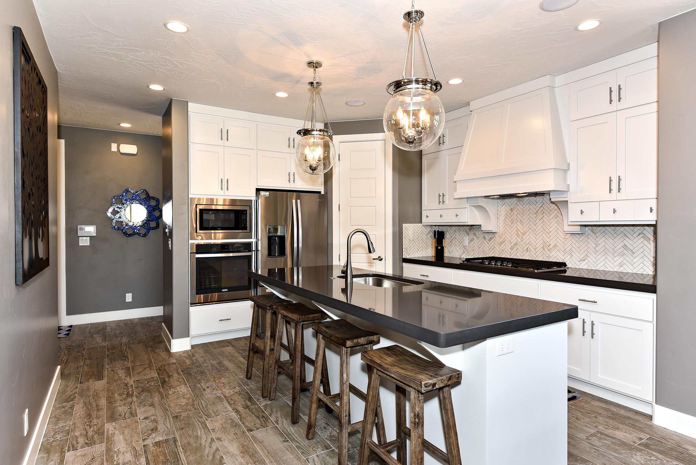 With all the upgrades and top-of-the-line stainless steel appliances, the Kitchen is fully stocked and ready to accommodate any meal preparations you desire.