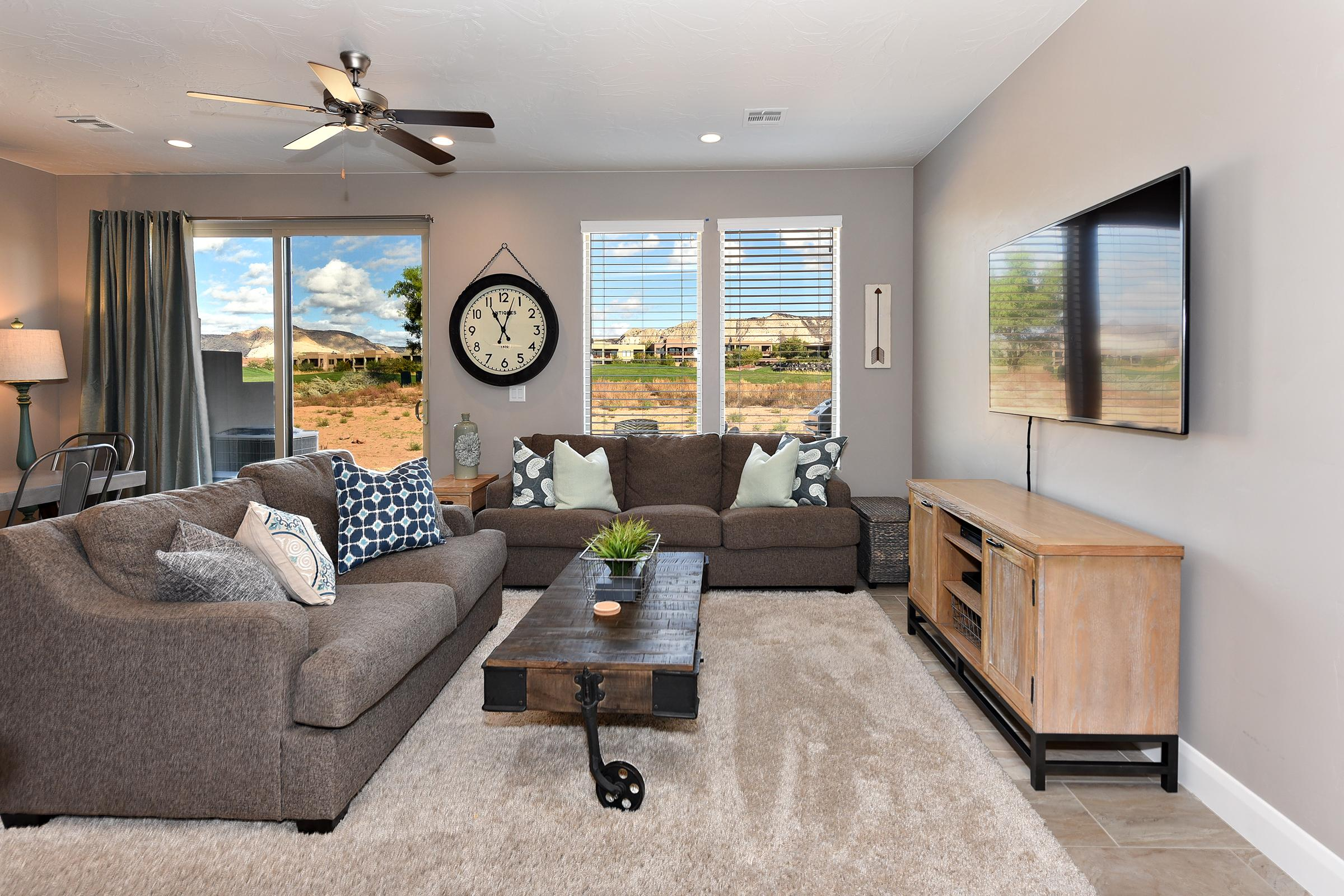 Enjoy watching your a movie or your favorite television show while relaxing in the Living Room