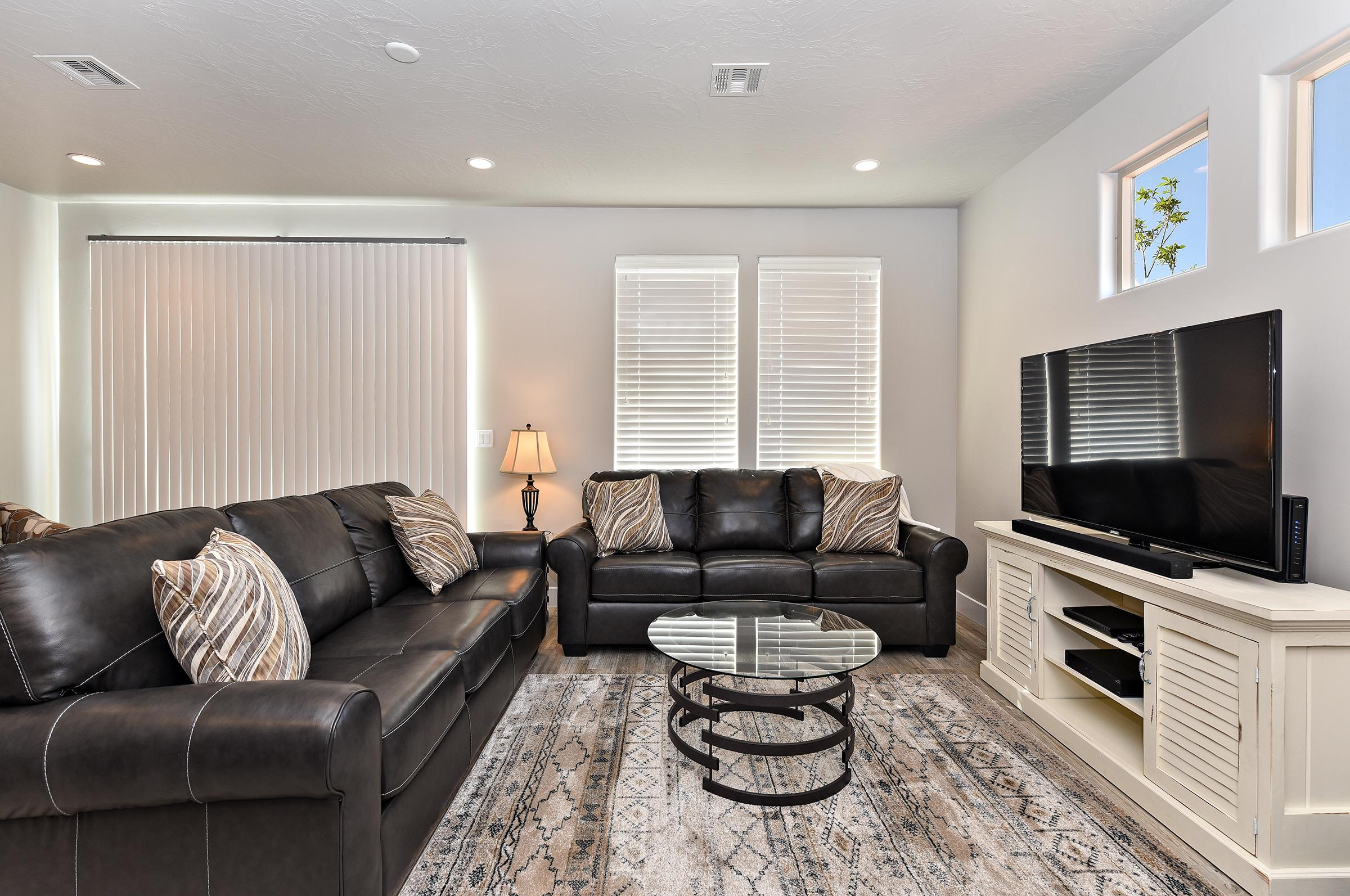 The Living Room is the perfect location to comfortably relax during your vacation with friends or family.