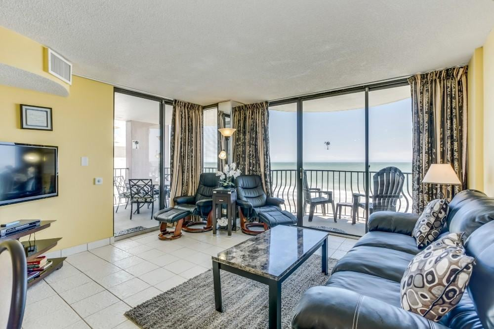 Oceanfront Condo with 2 Beach-front Terraces
