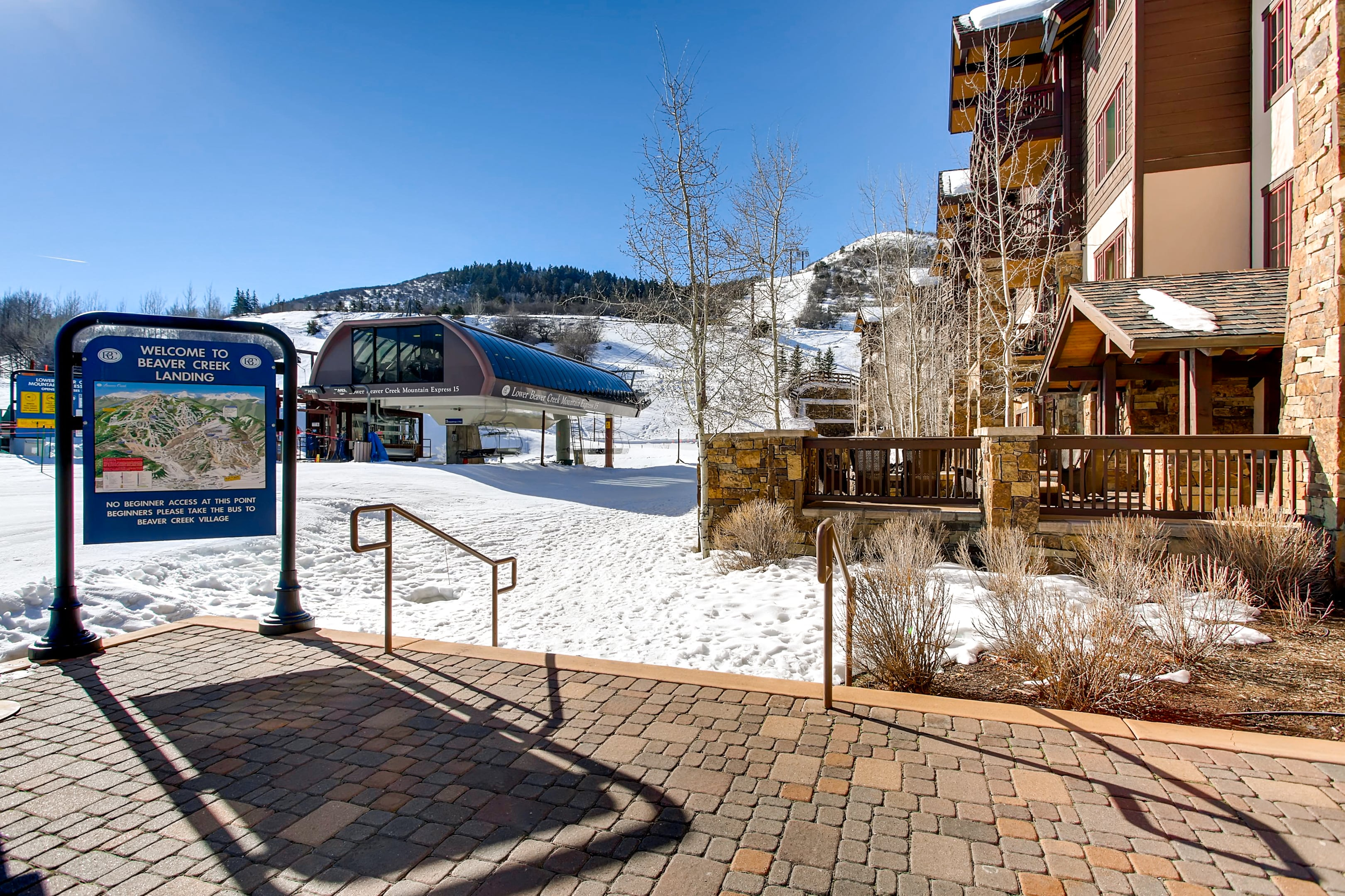 Ski-in/Ski-out Beaver Creek Condo with Saline Pool