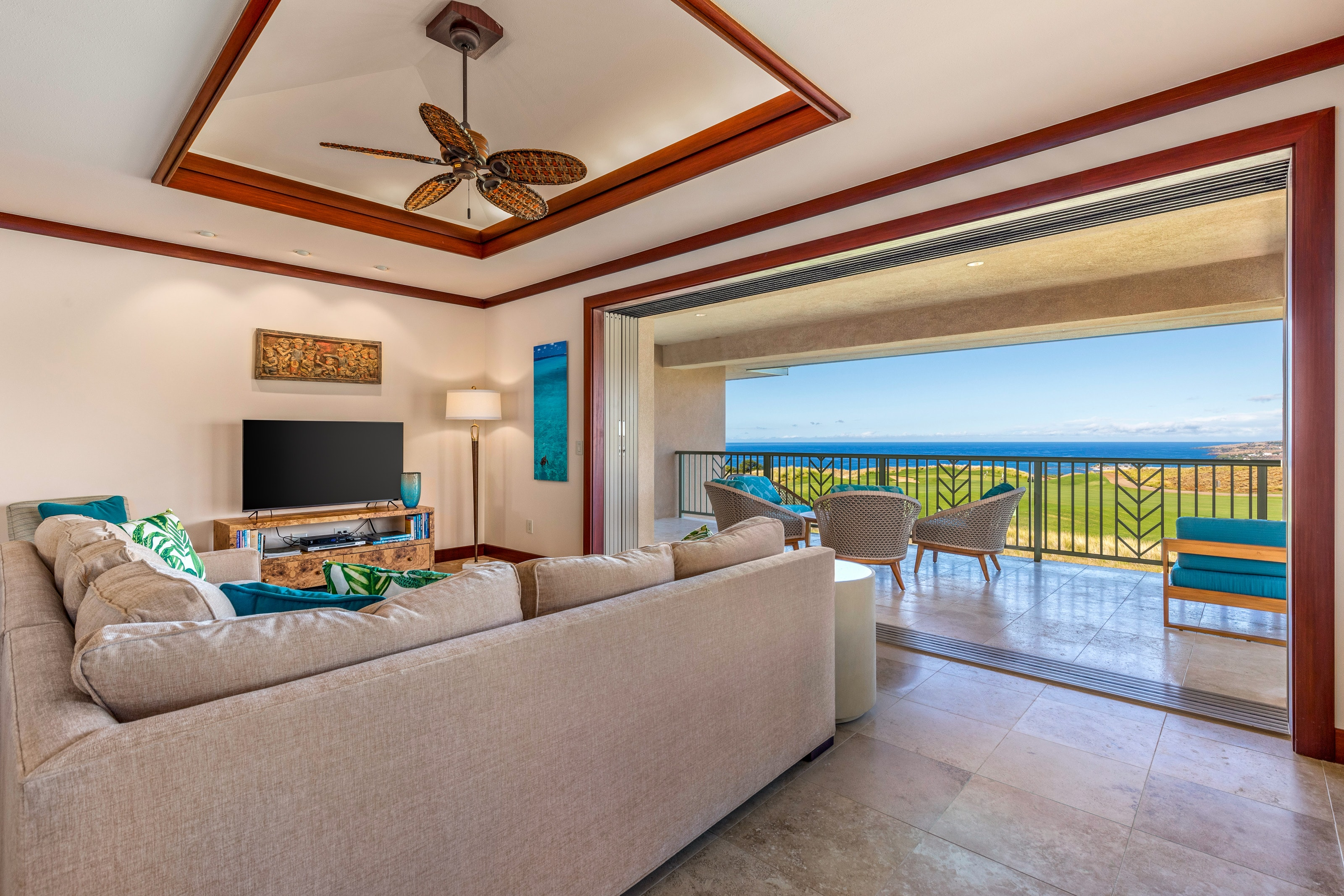 Fairway-Adjacent Home with Unobstructed Ocean Views & Chef's Kitchen