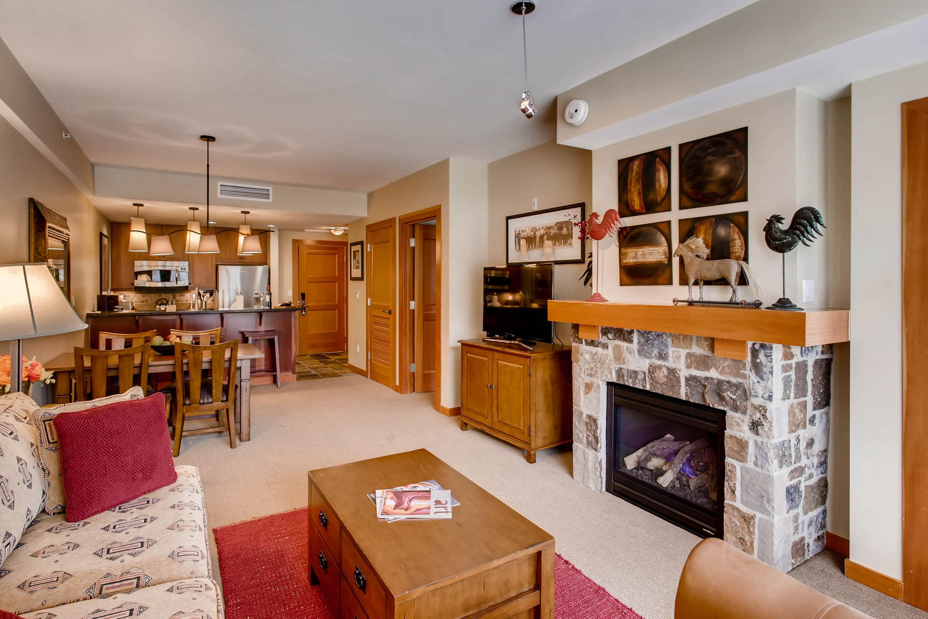 Cozy mountain getaway located in the new Snowmass Base Village