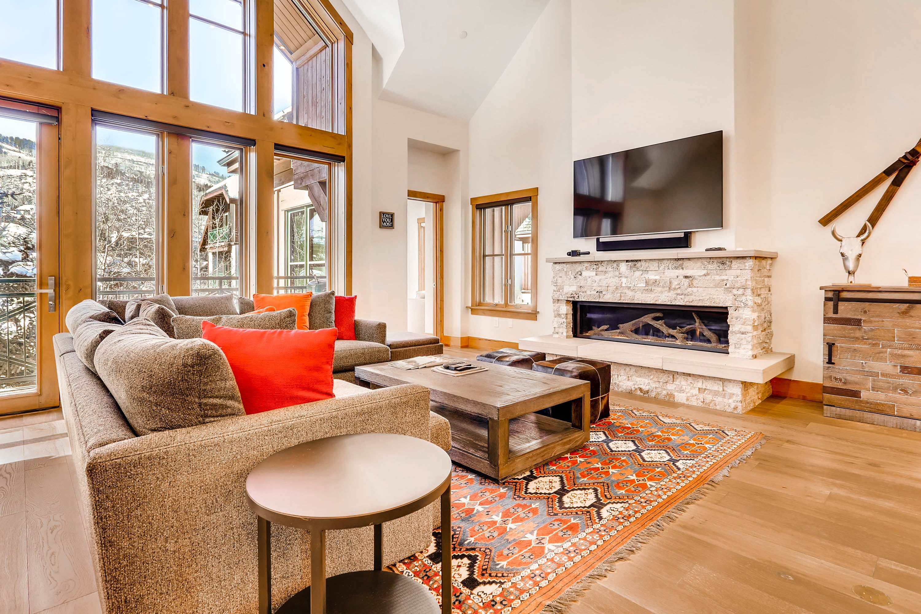 Property Image 2 - Contemporary Townhome in Beaver Creek with Patio