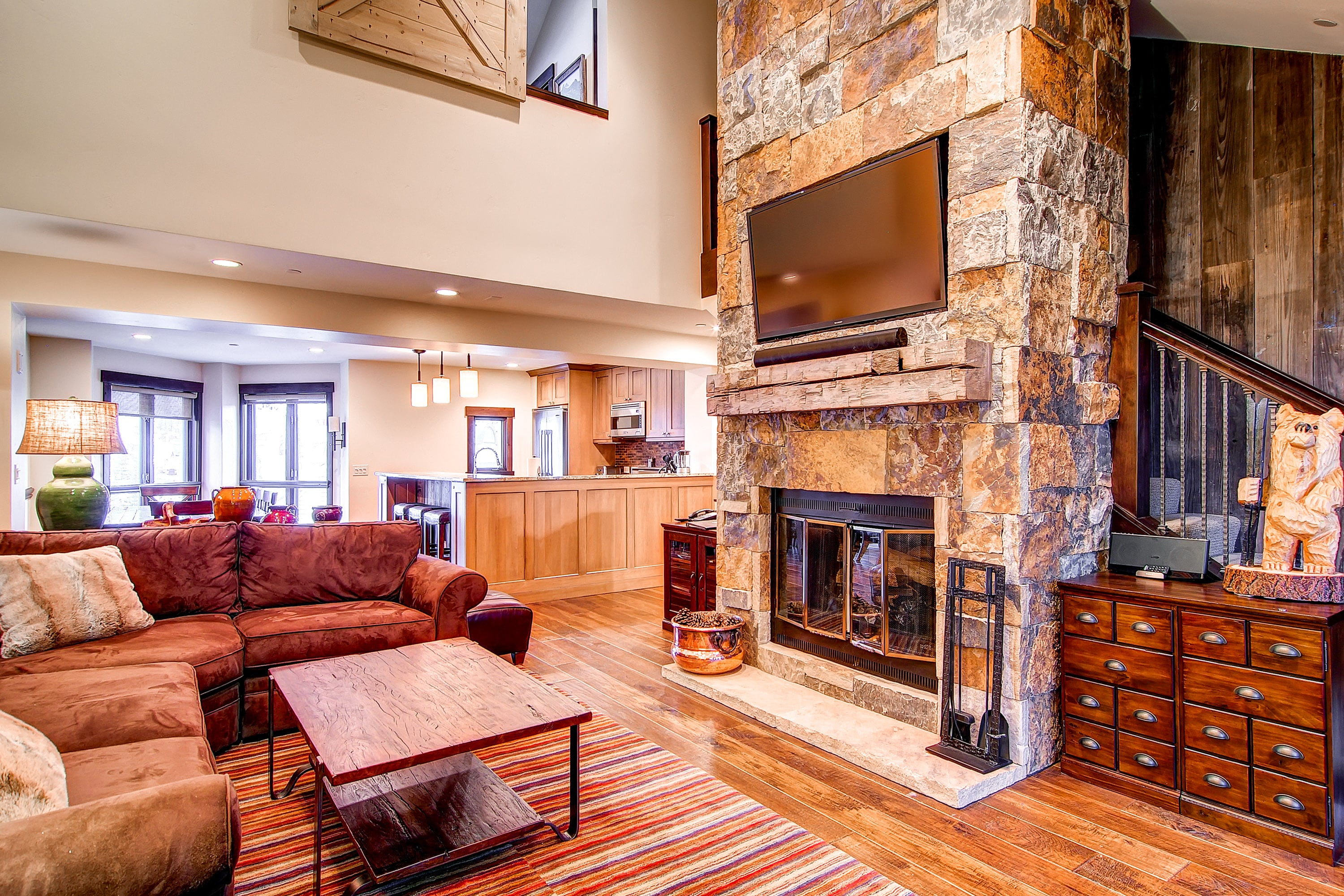 Property Image 2 - Luxury, Two-Bedroom Condo with Stone Fireplace; in the Village